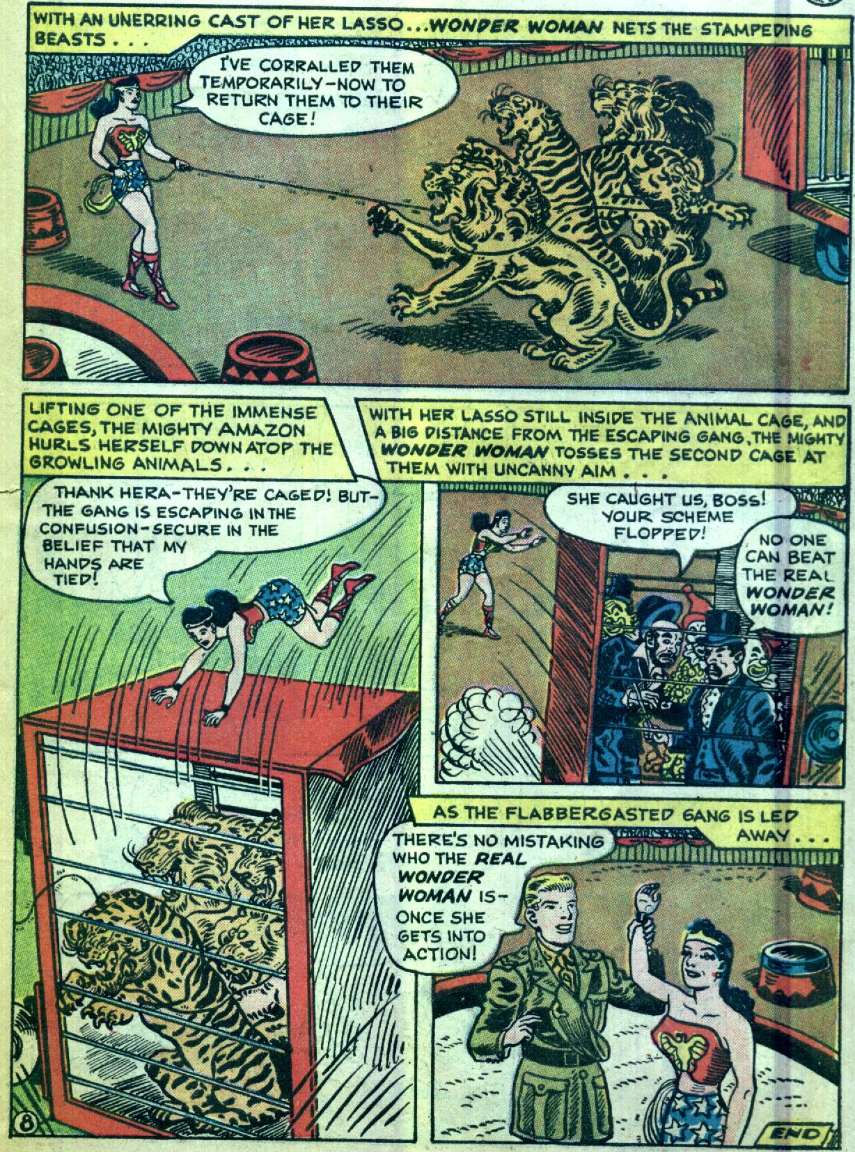Read online Wonder Woman (1942) comic -  Issue #92 - 31