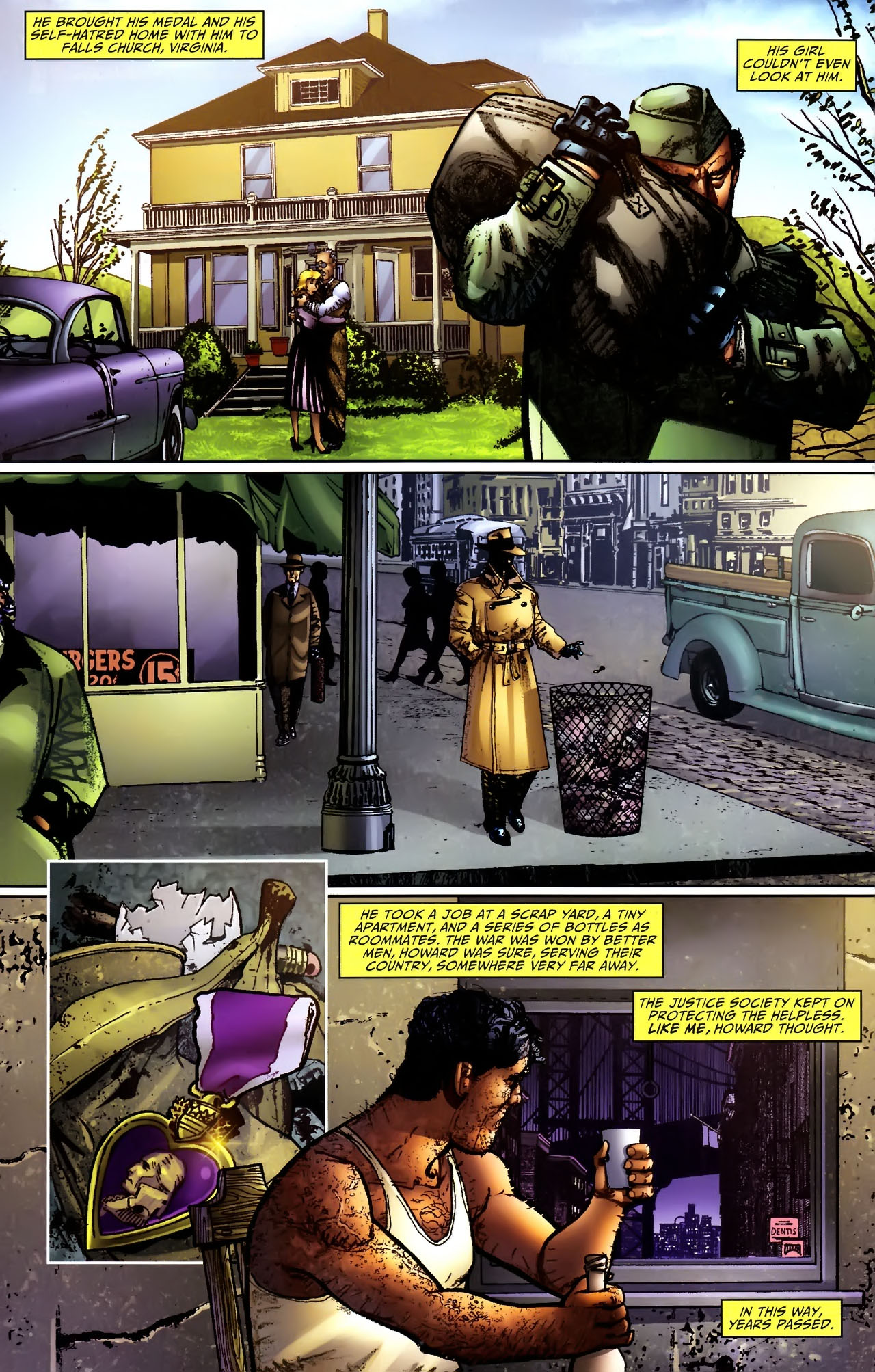 Read online JSA 80-Page Giant 2011 comic -  Issue # Full - 64