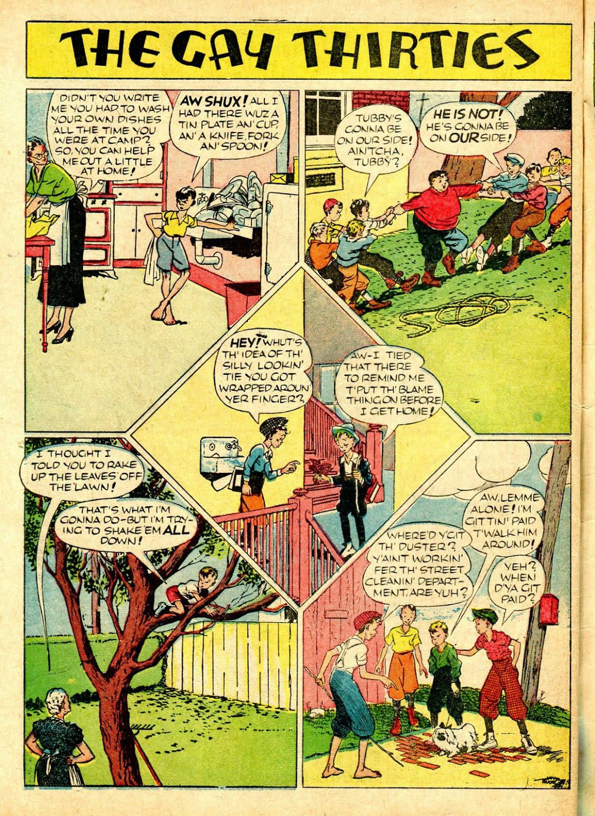 Read online Famous Funnies comic -  Issue #63 - 63