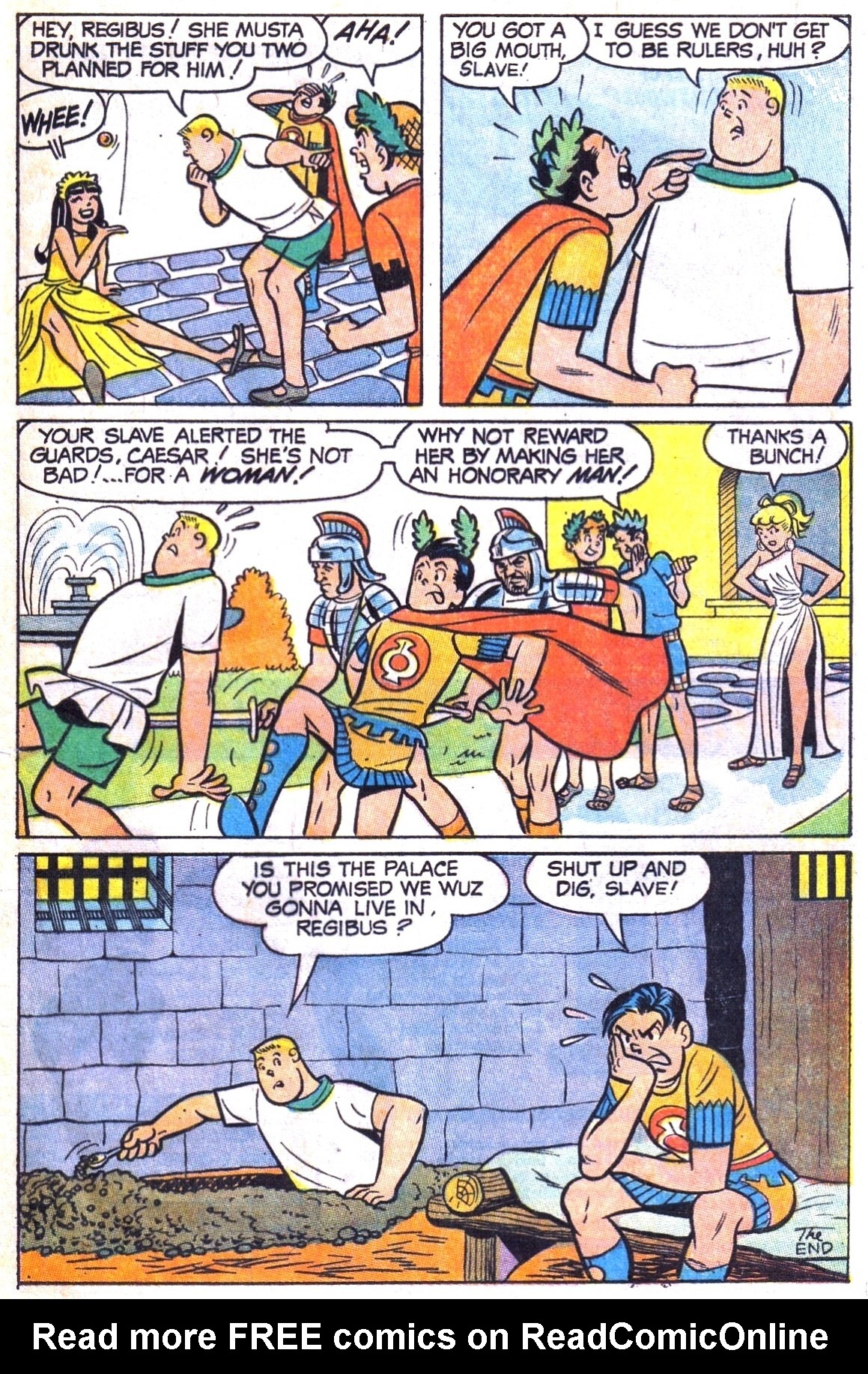 Read online Archie (1960) comic -  Issue #180 - 33