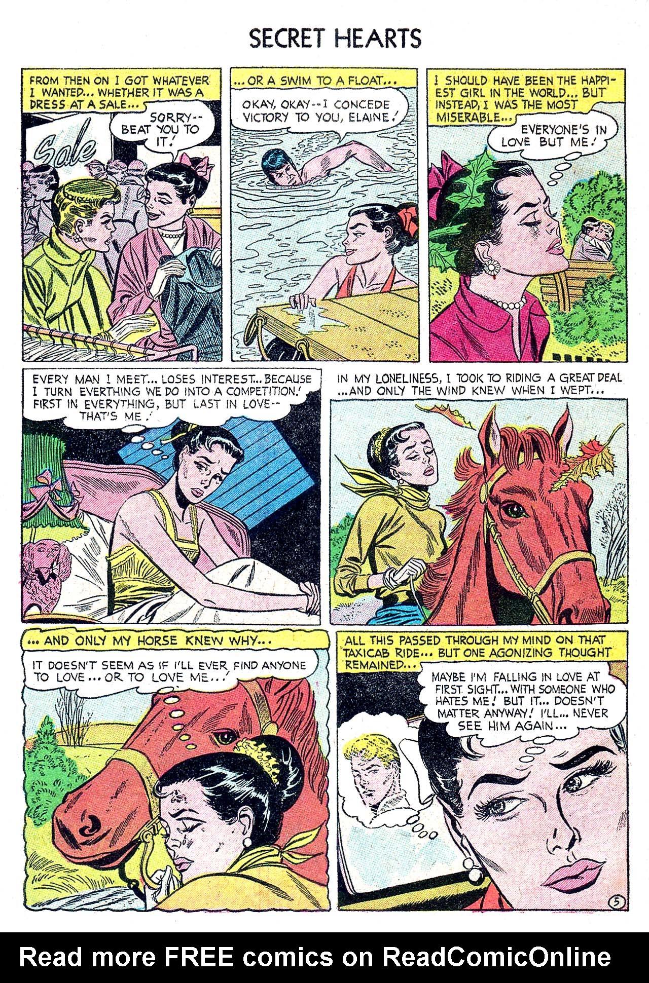 Read online Secret Hearts comic -  Issue #32 - 30