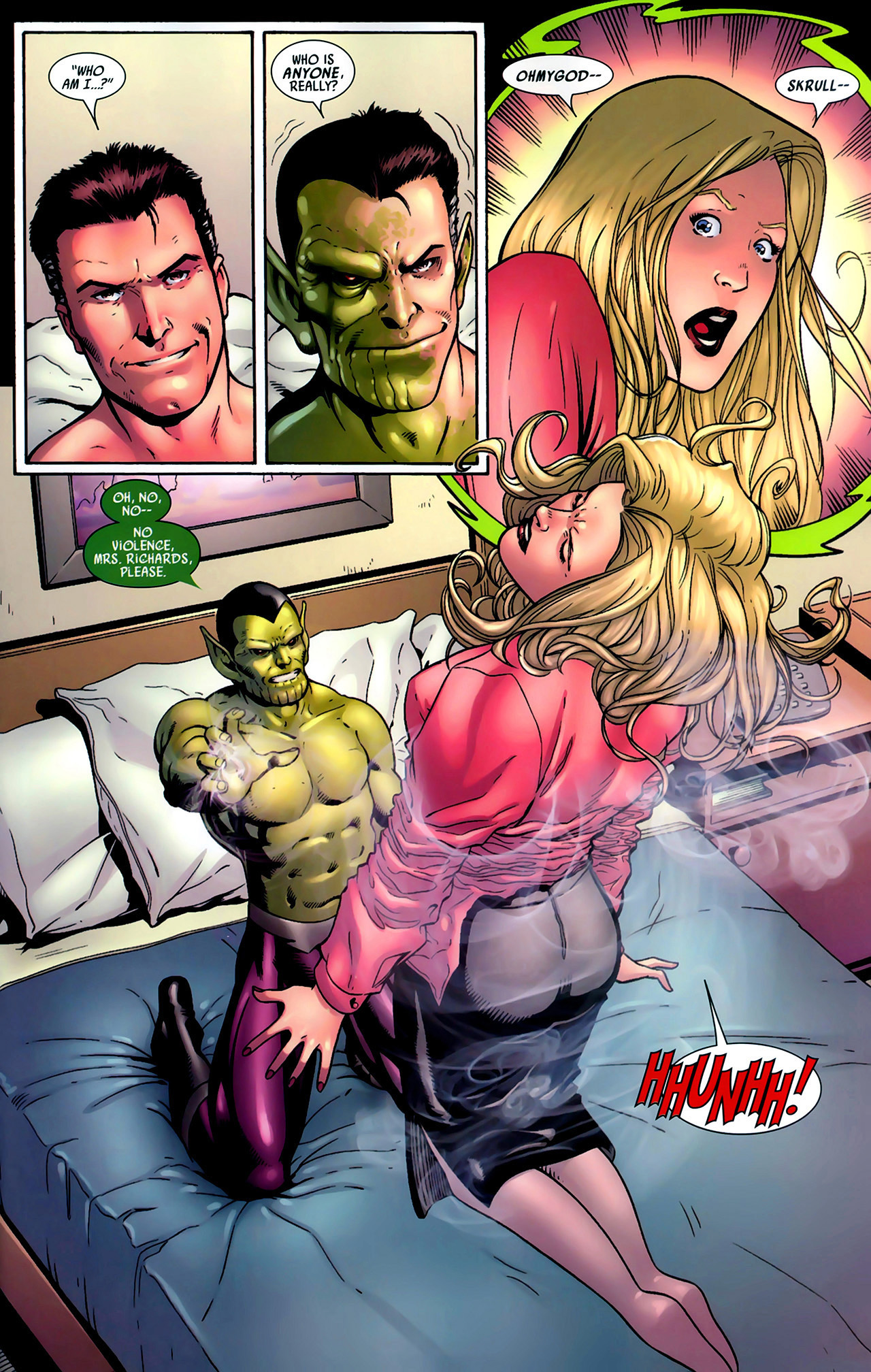 Read online Secret Invasion: Fantastic Four comic -  Issue #1 - 4