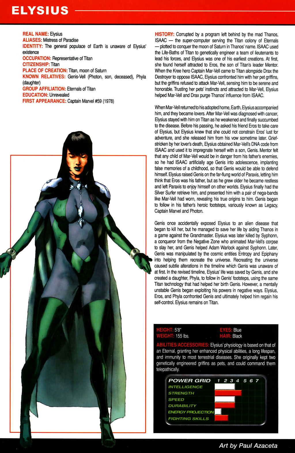 Read online All-New Official Handbook of the Marvel Universe A to Z comic -  Issue #4 - 10