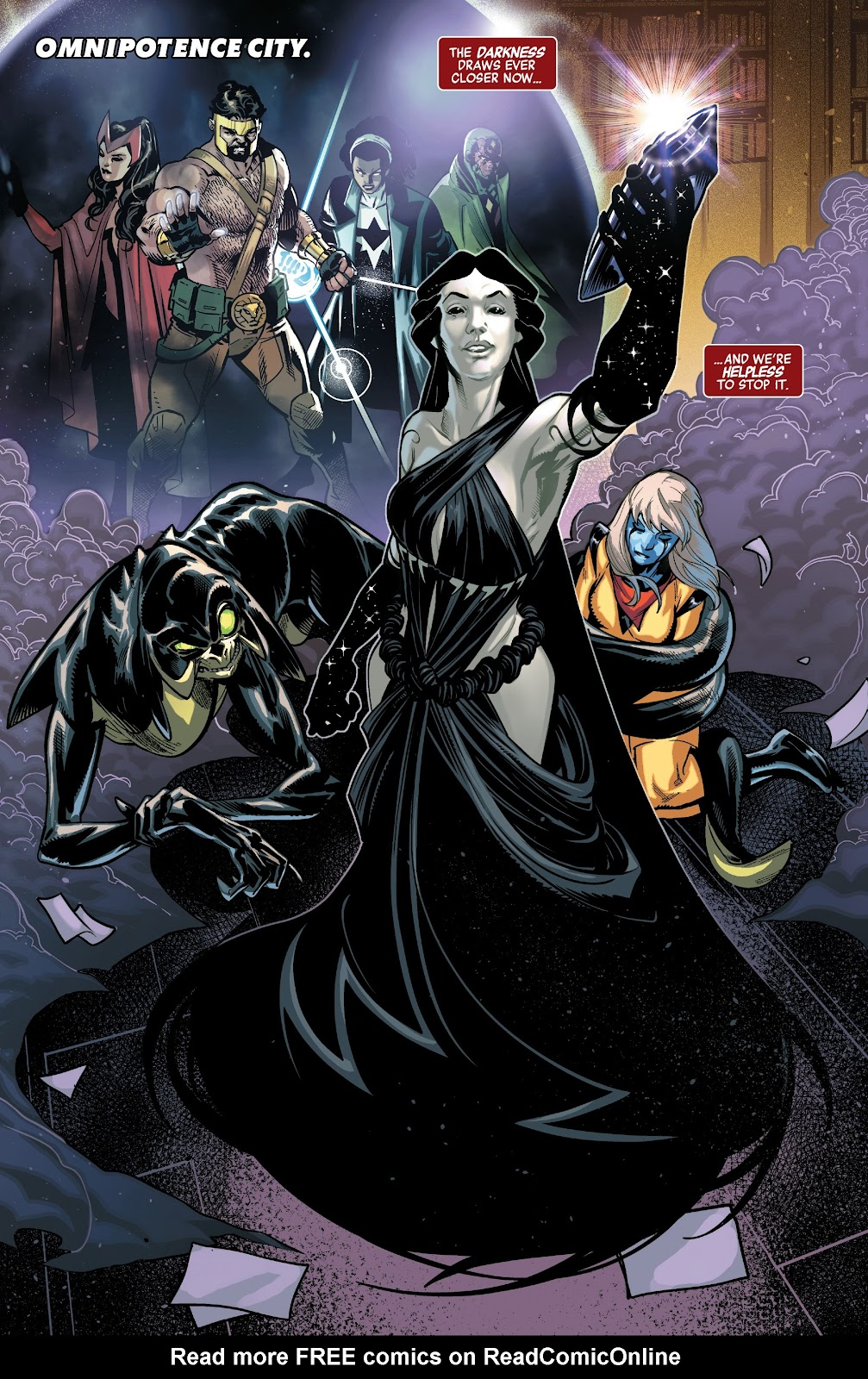 Read online Avengers No Road Home comic -  Issue #5 - 4
