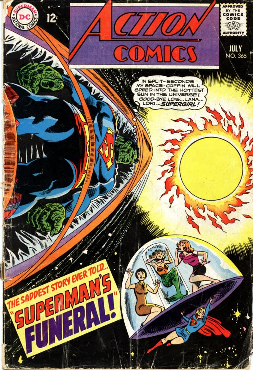 Action Comics (1938) 365 Page 1