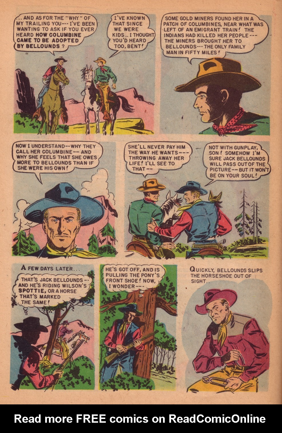 Four Color Comics issue 301 - Page 38
