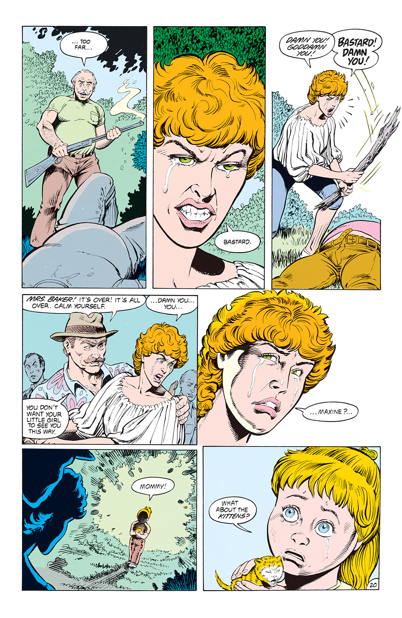 Read online Animal Man (1988) comic -  Issue #3 - 22
