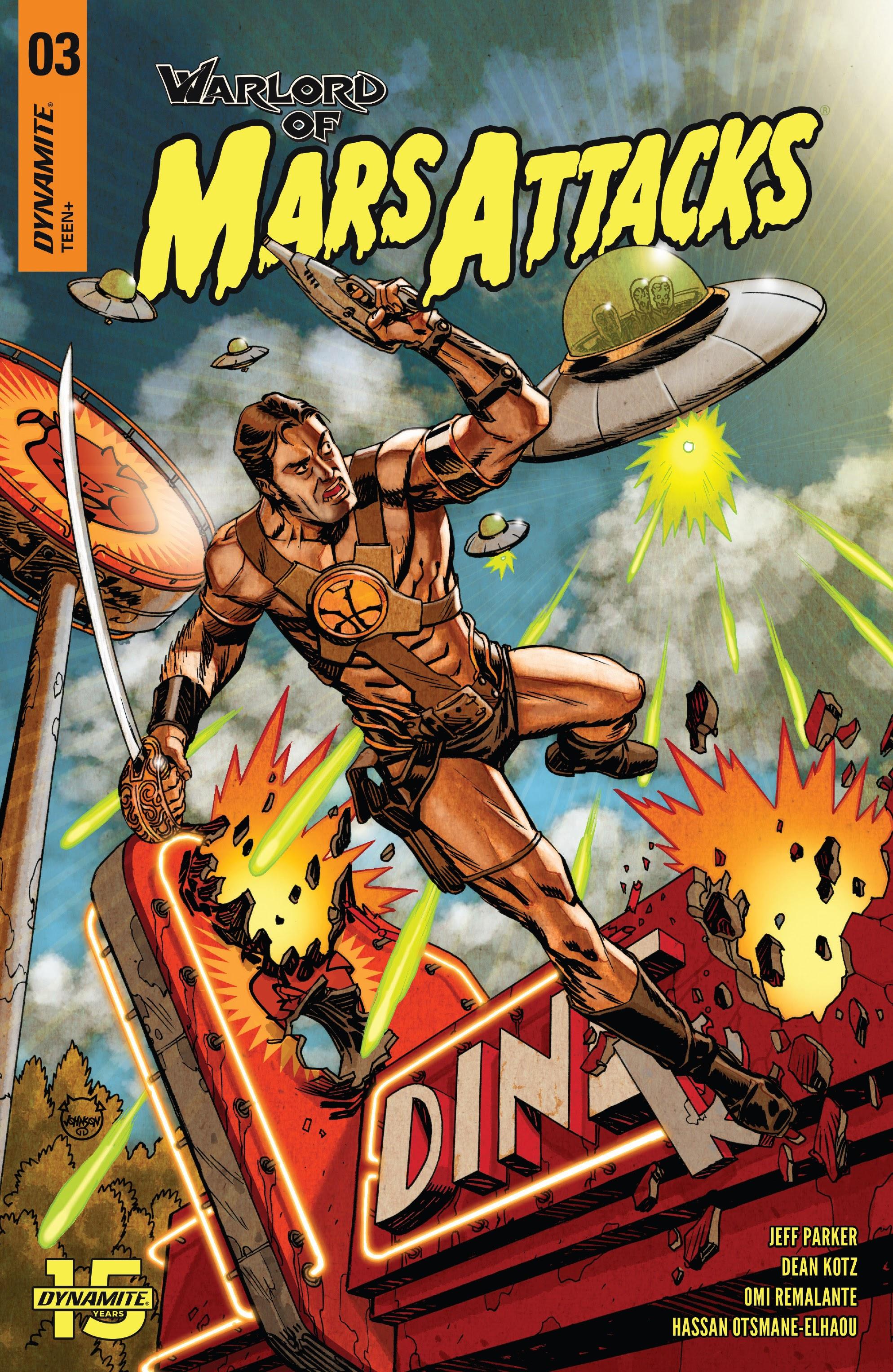 Warlord of Mars Attacks 3 Page 1