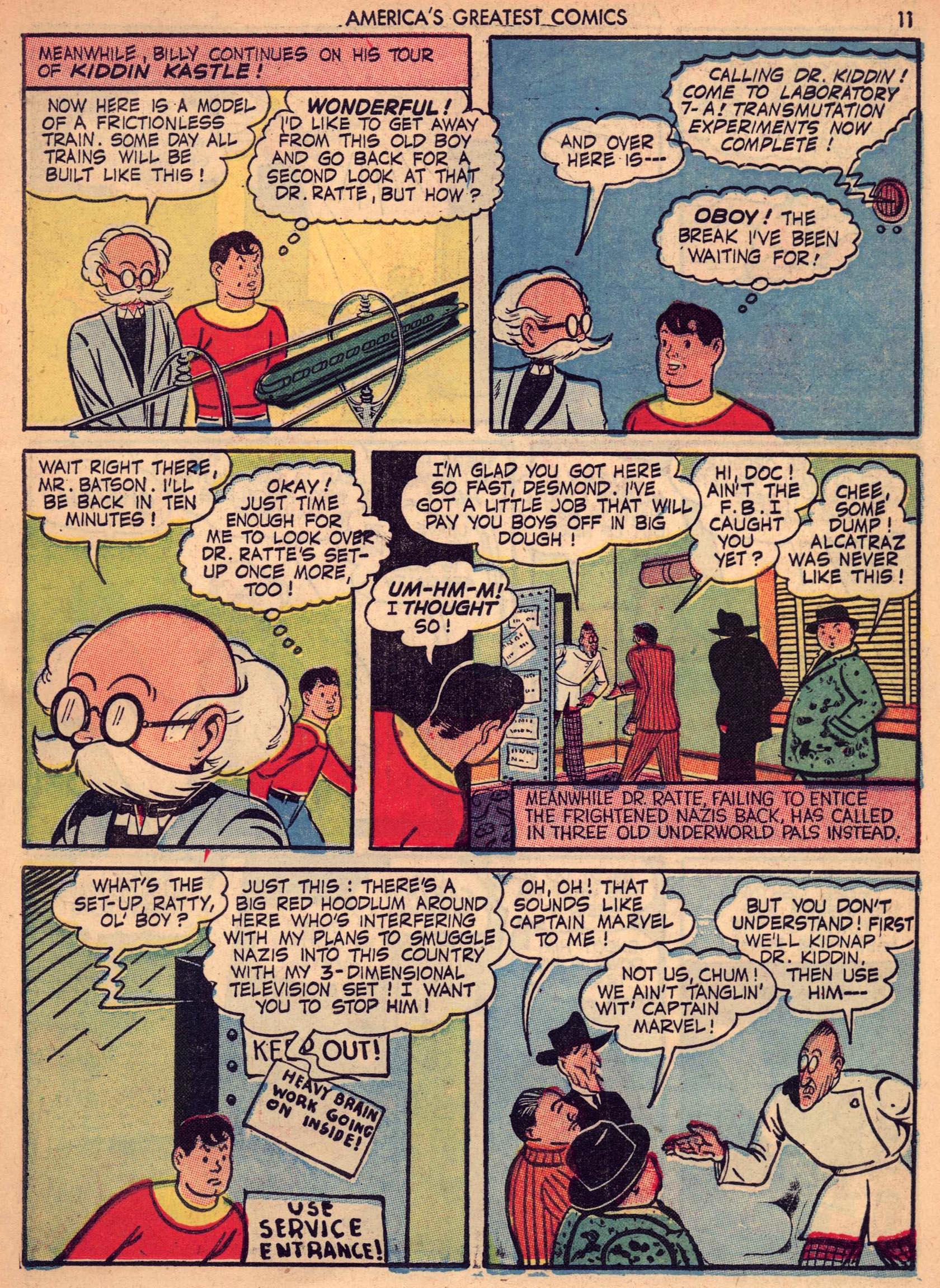 Read online America's Greatest Comics comic -  Issue #7 - 10