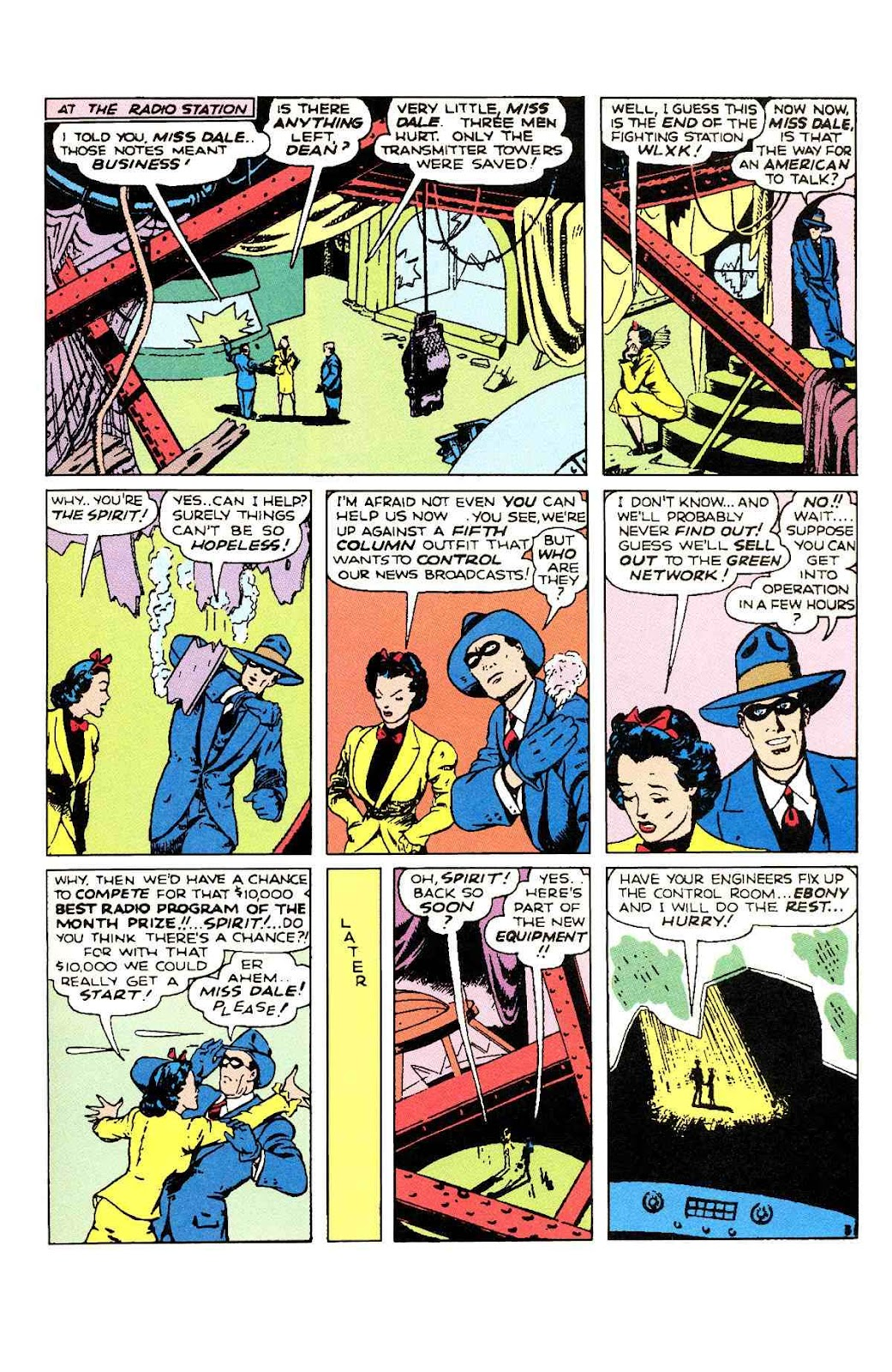 Read online Will Eisner's The Spirit Archives comic -  Issue # TPB 2 (Part 1) - 51