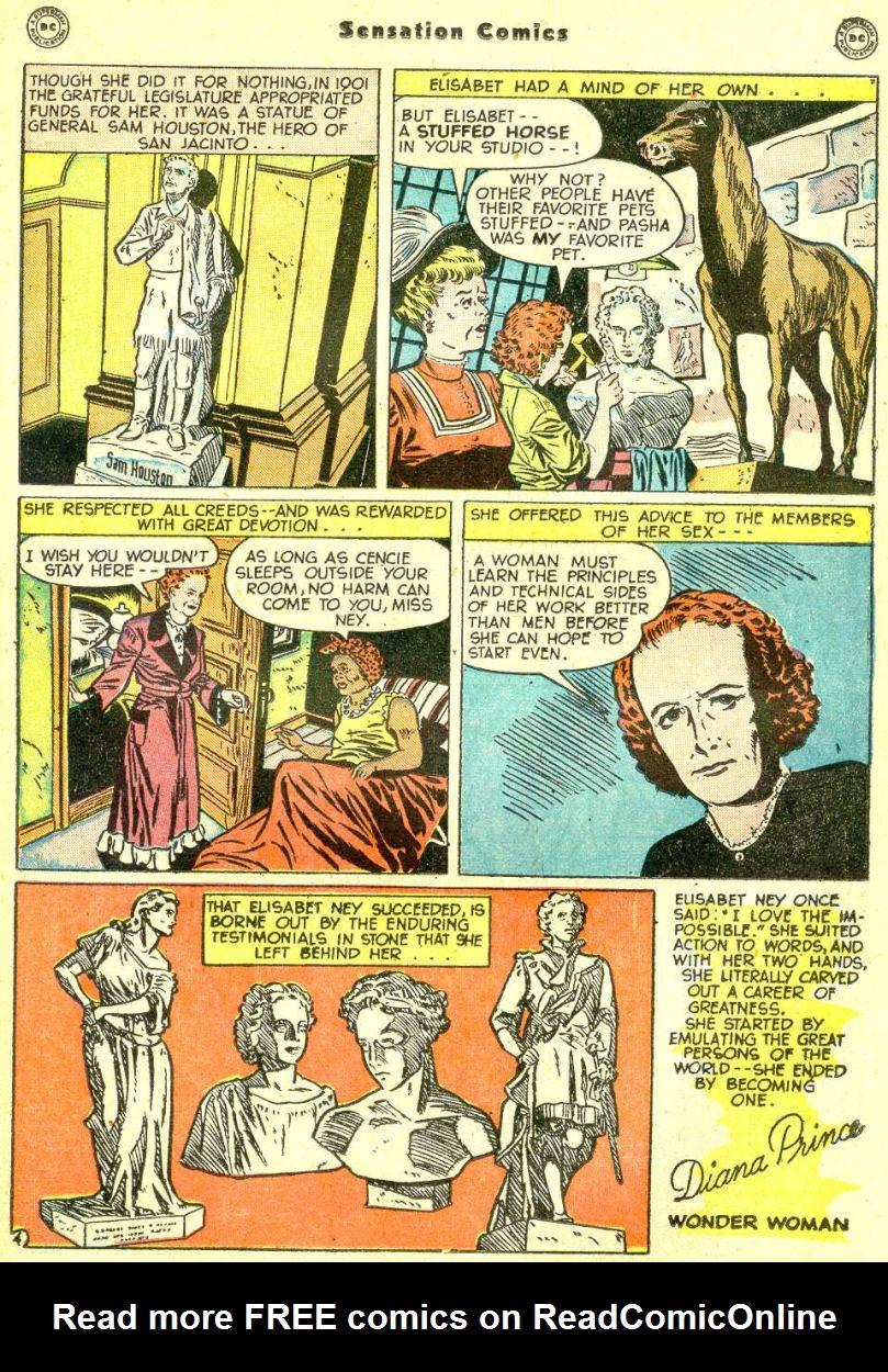 Read online Sensation (Mystery) Comics comic -  Issue #87 - 35