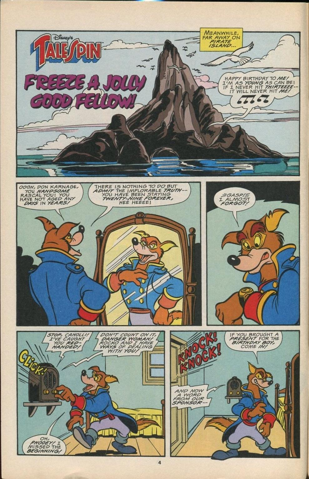 Read online Disney's Tale Spin comic -  Issue #6 - 5