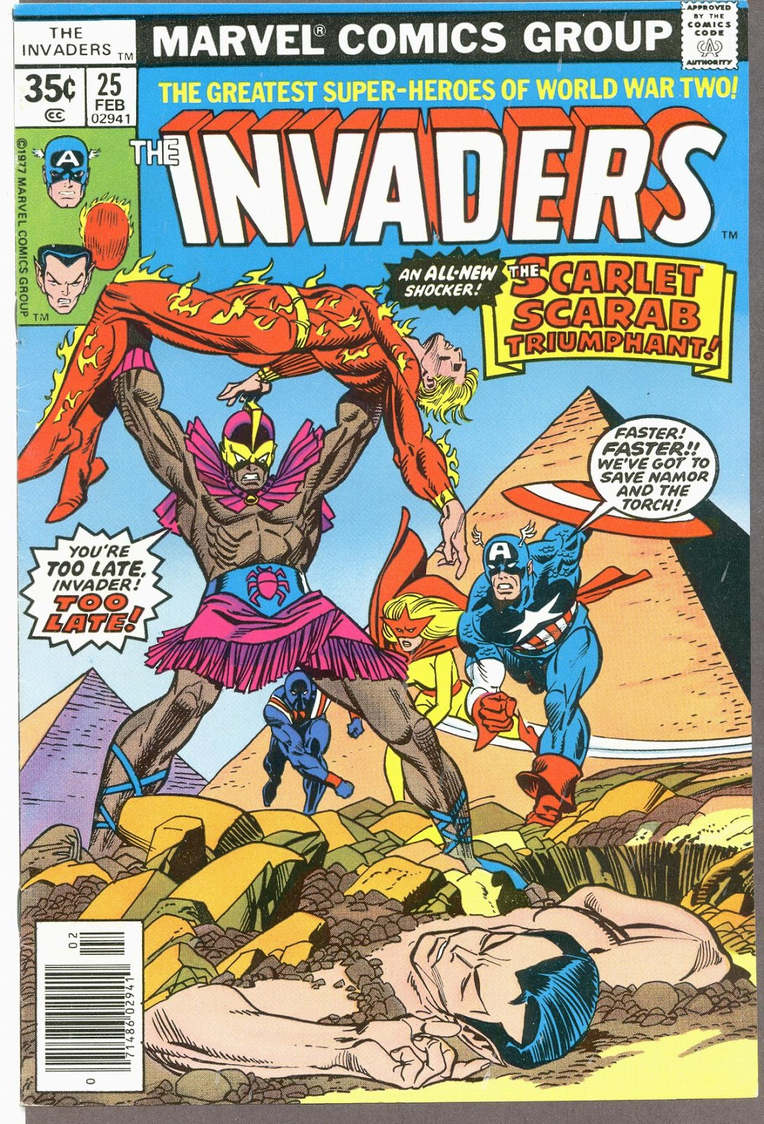 The Invaders (1975) issue 25 - Page 1
