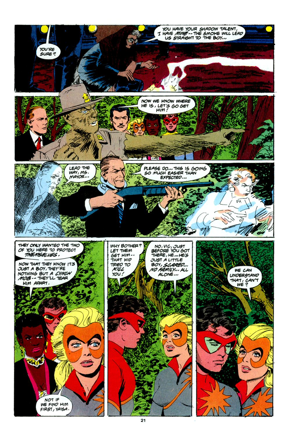 Read online Powerline comic -  Issue #6 - 23