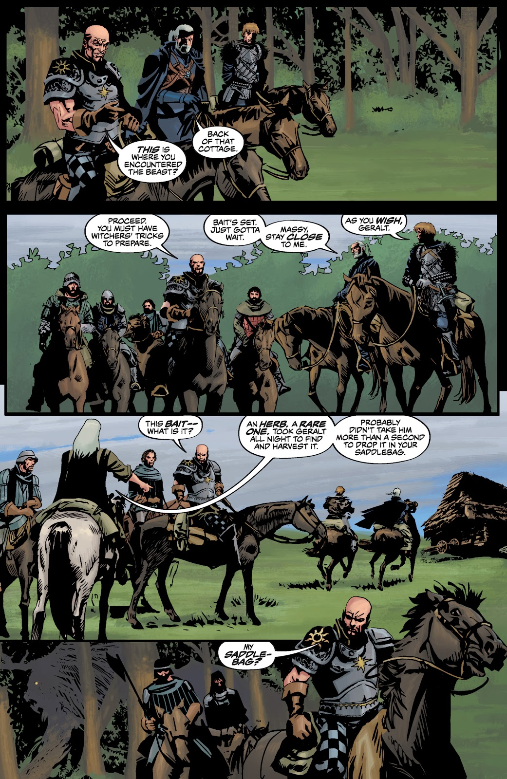 Read online The Witcher Omnibus comic -  Issue # TPB (Part 3) - 85
