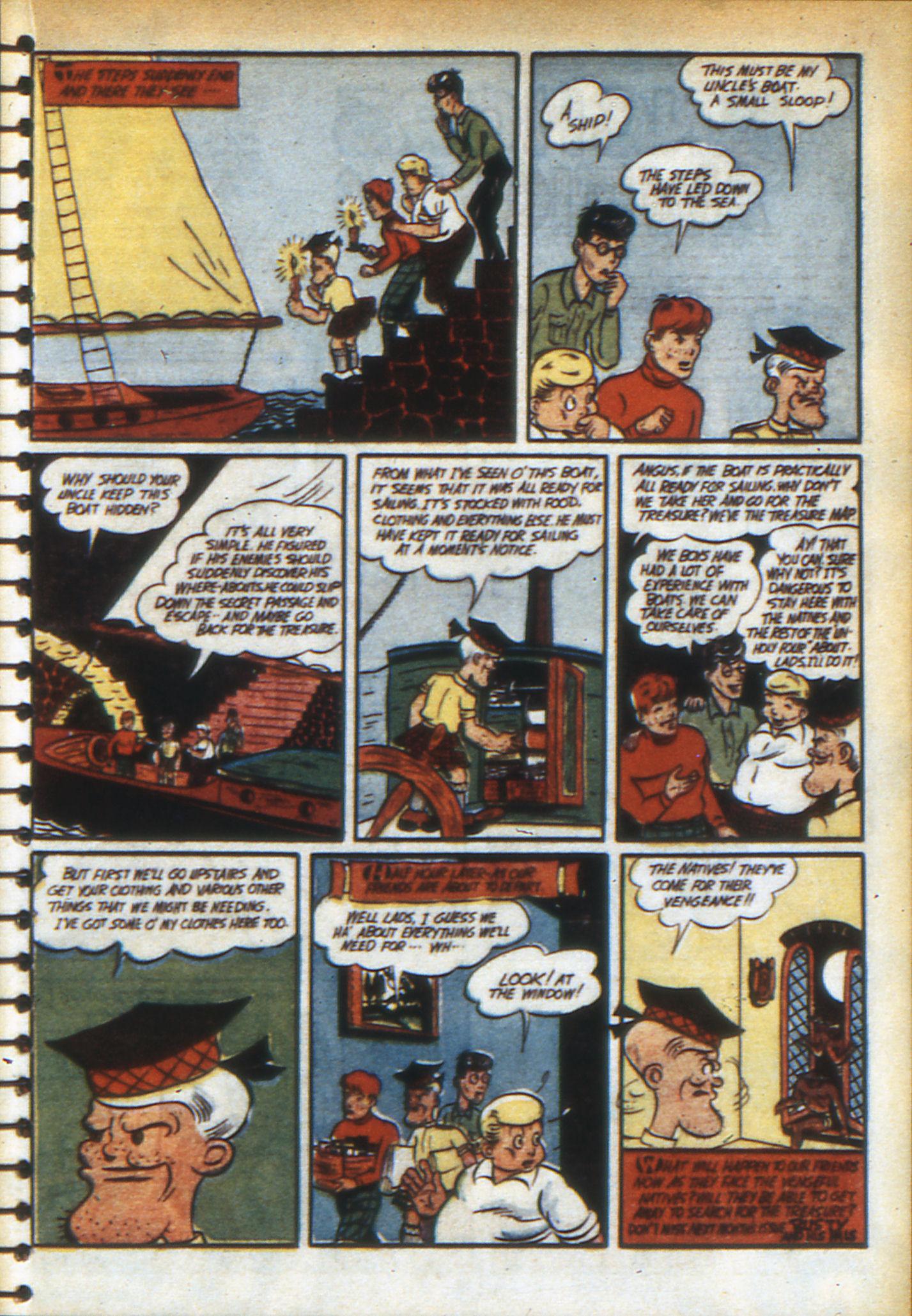 Read online Adventure Comics (1938) comic -  Issue #49 - 53