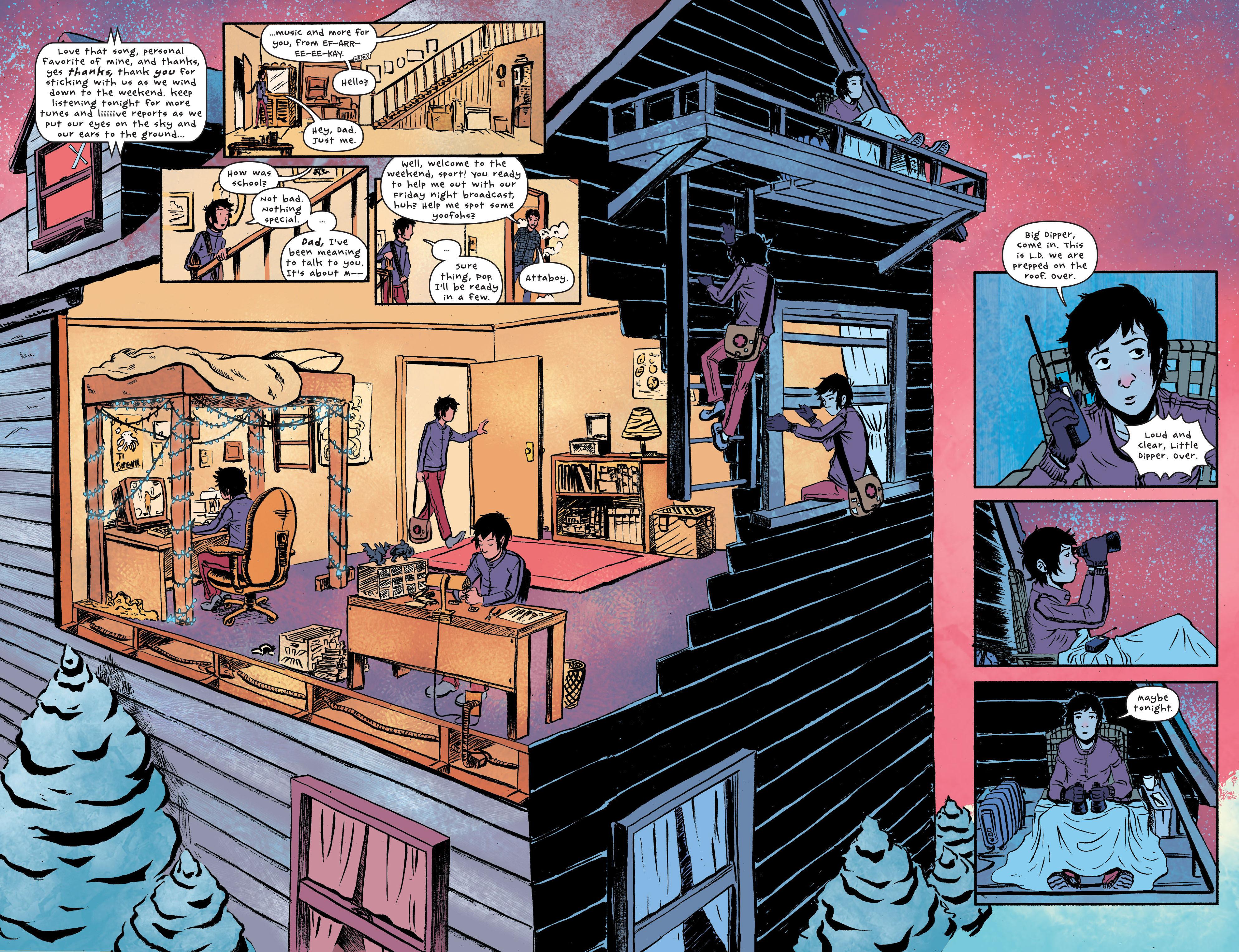 Read online UFOlogy comic -  Issue #1 - 10