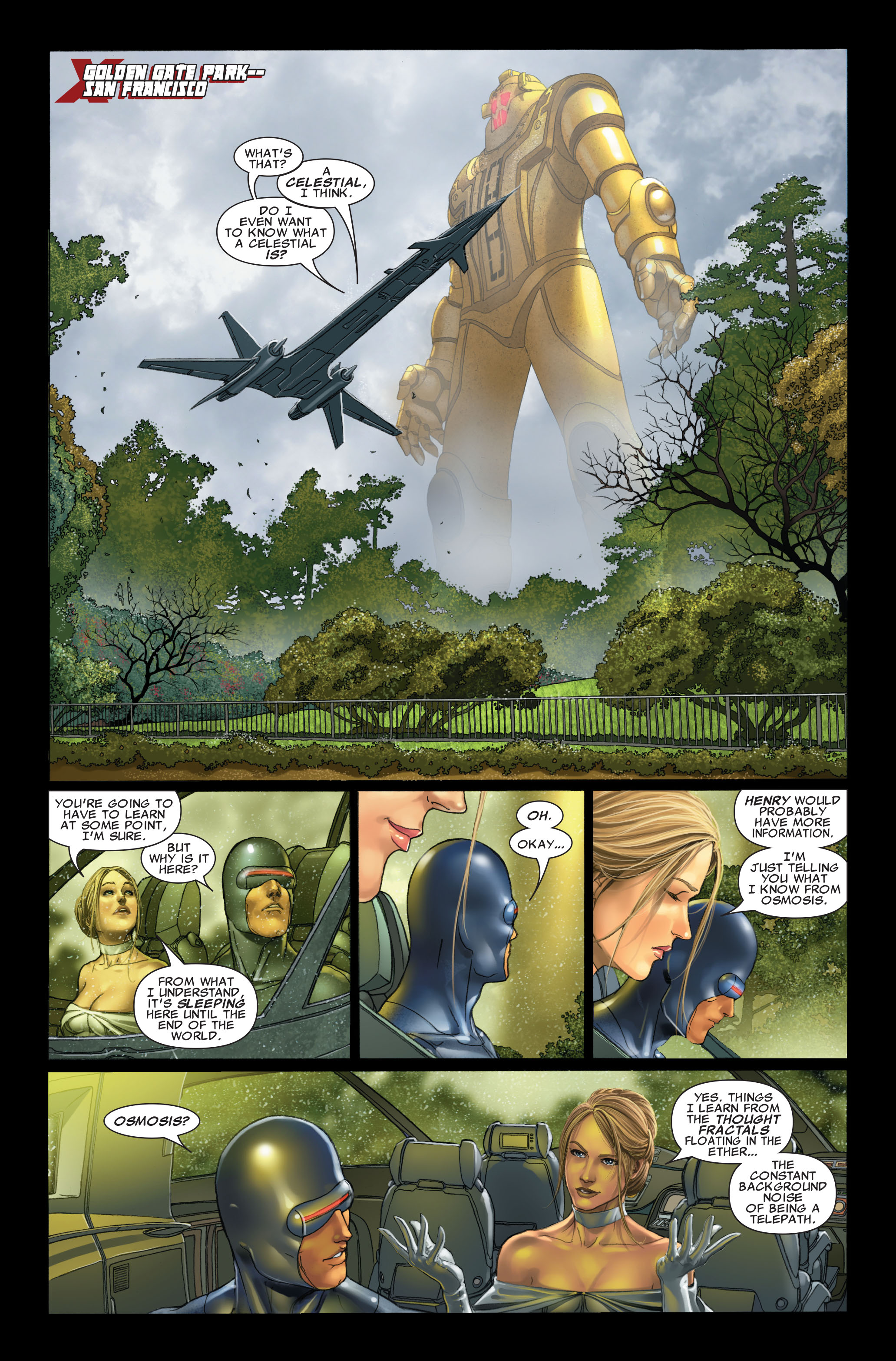Read online Uncanny X-Men (1963) comic -  Issue #496 - 13