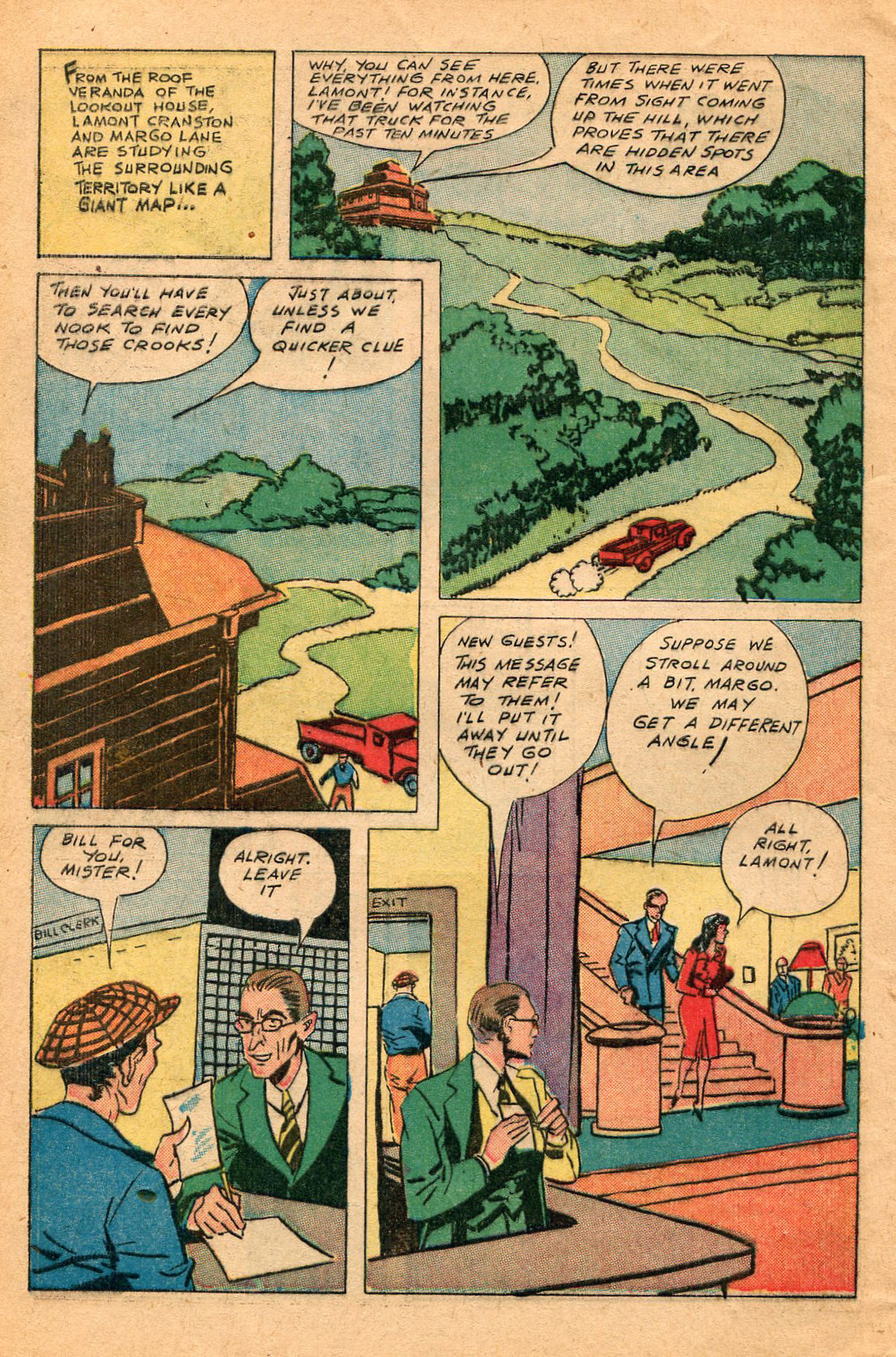 Read online Shadow Comics comic -  Issue #60 - 6