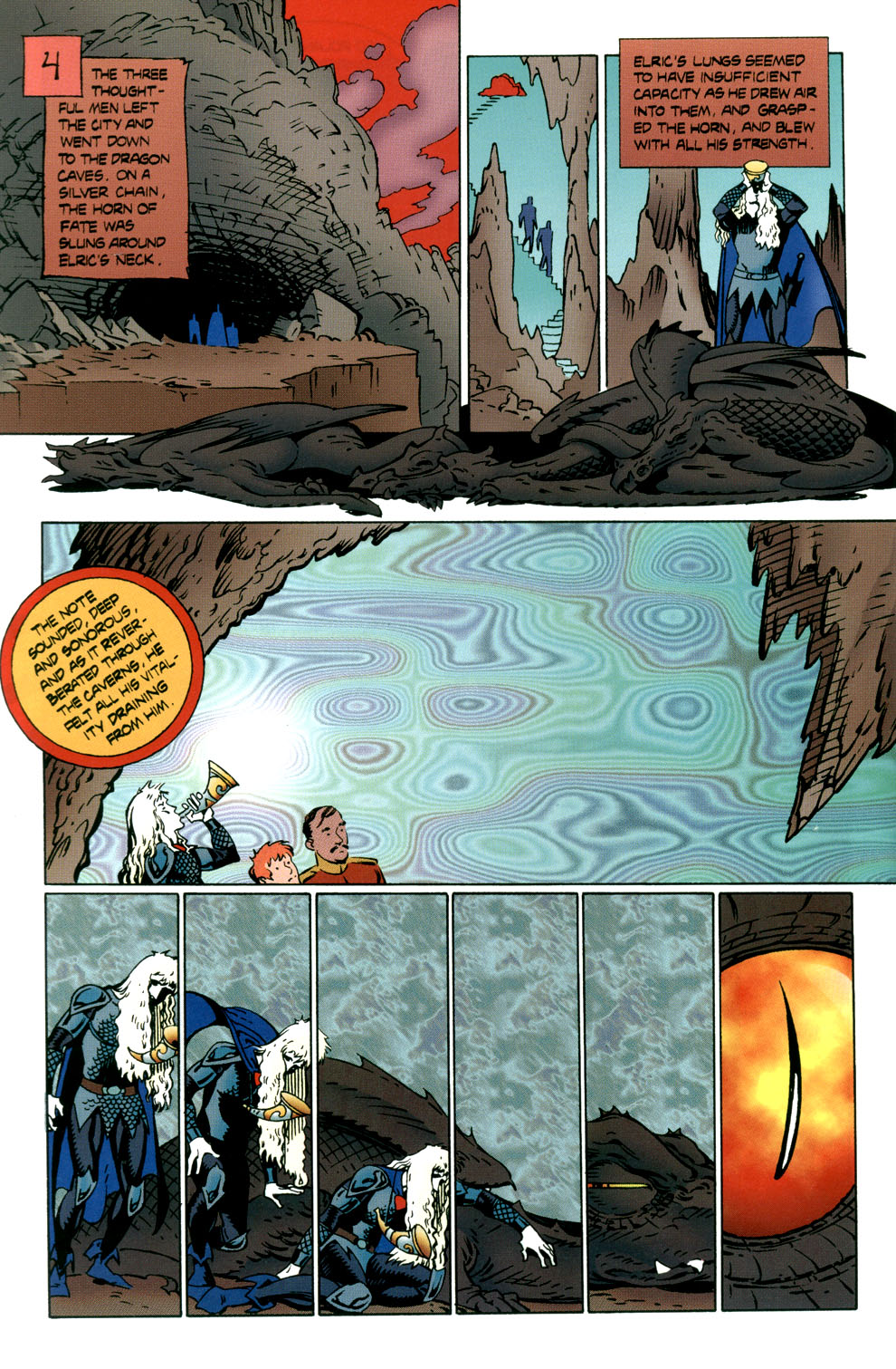 Read online Elric: Stormbringer comic -  Issue #6 - 24