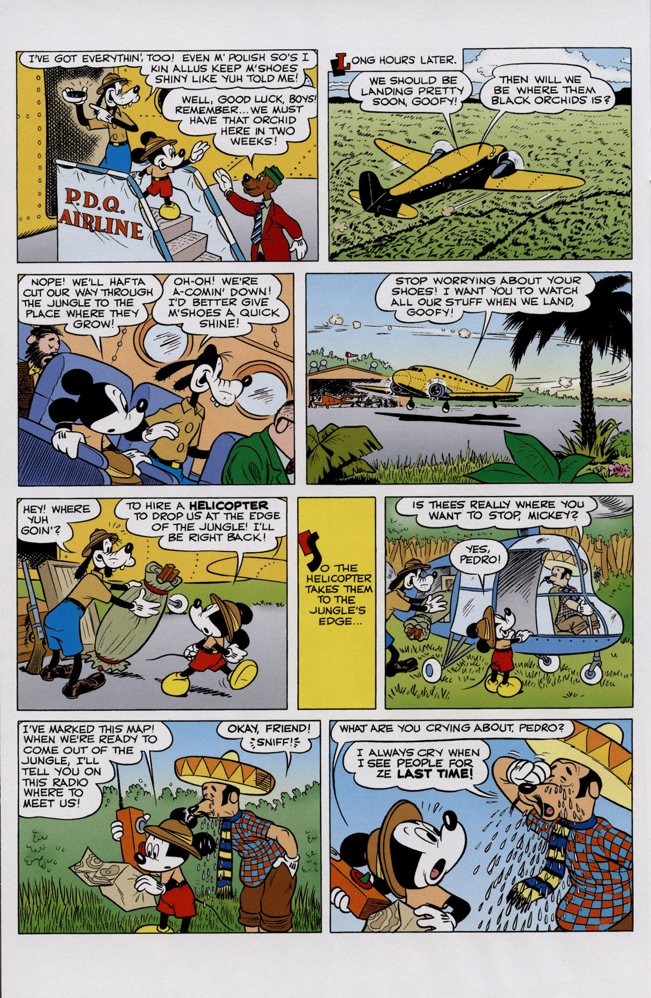 Read online Mickey Mouse (2011) comic -  Issue #307 - 8