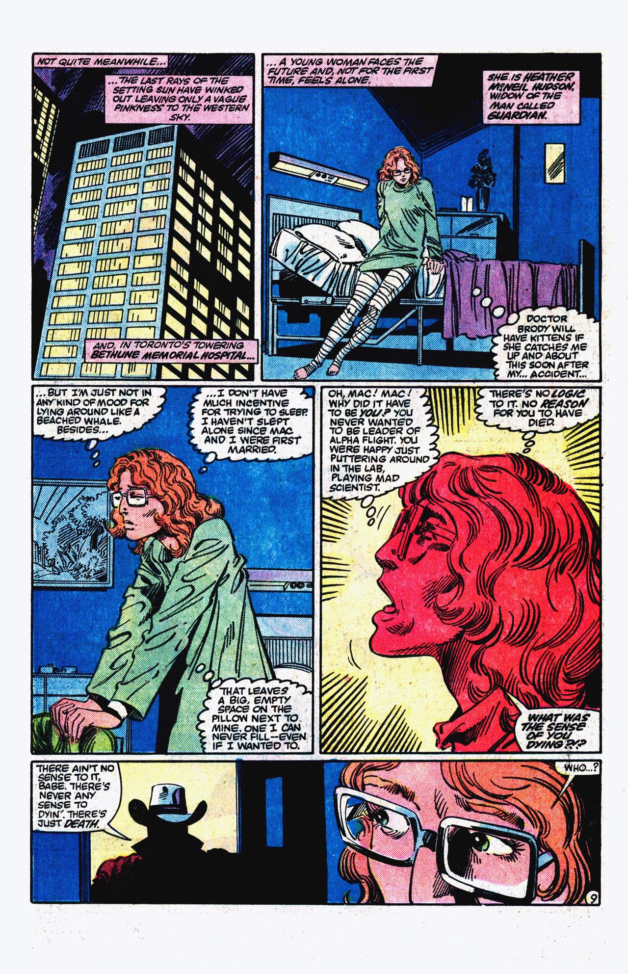 Read online Alpha Flight (1983) comic -  Issue #16 - 10