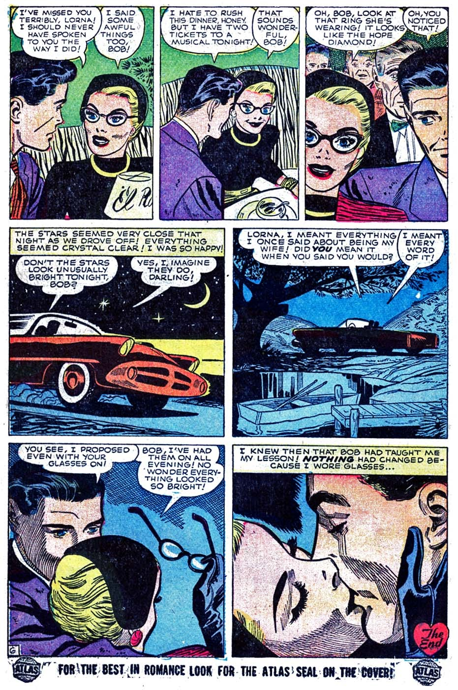 Love Romances (1949) issue 52 - Page 16