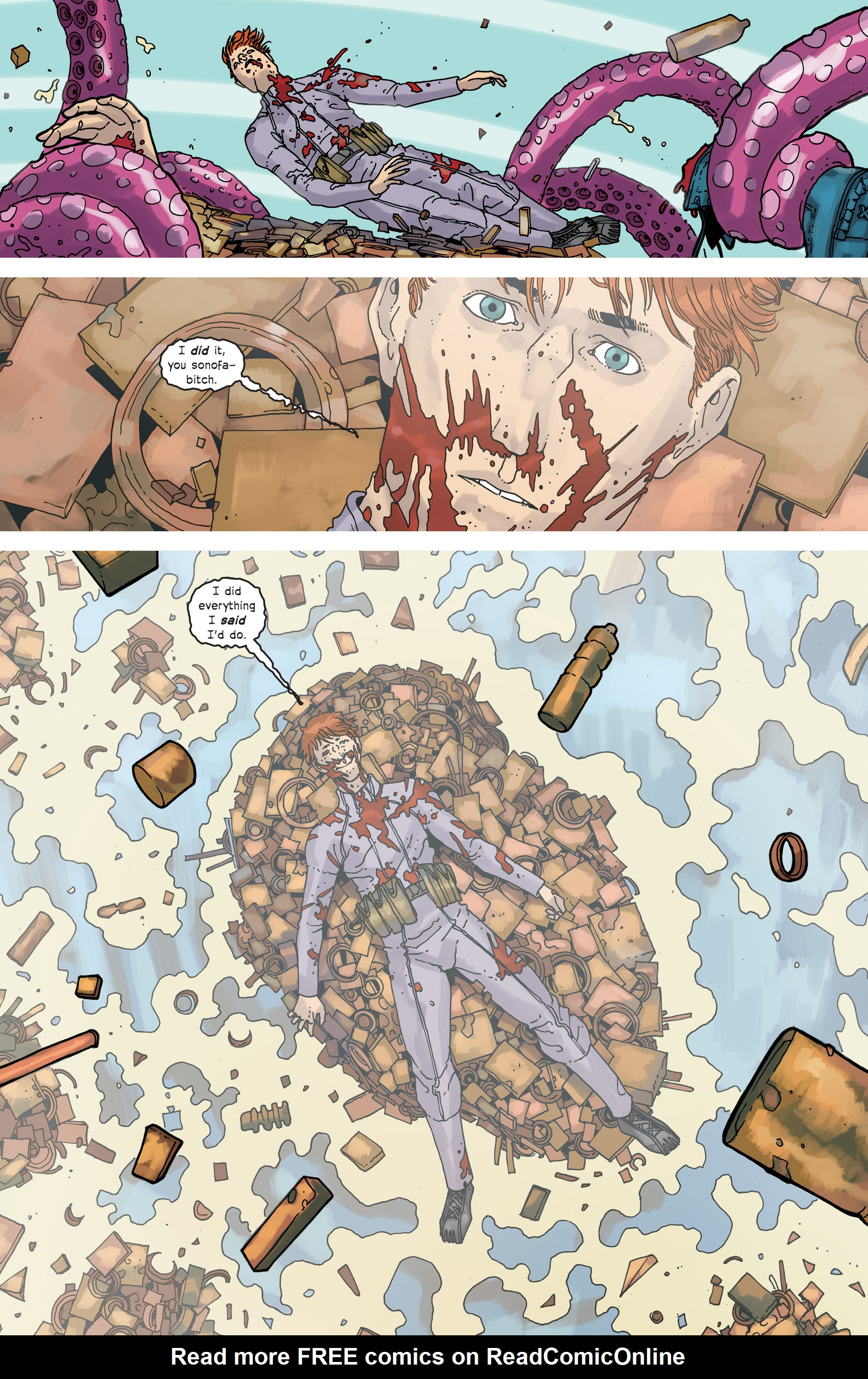 Read online Great Pacific comic -  Issue #18 - 24