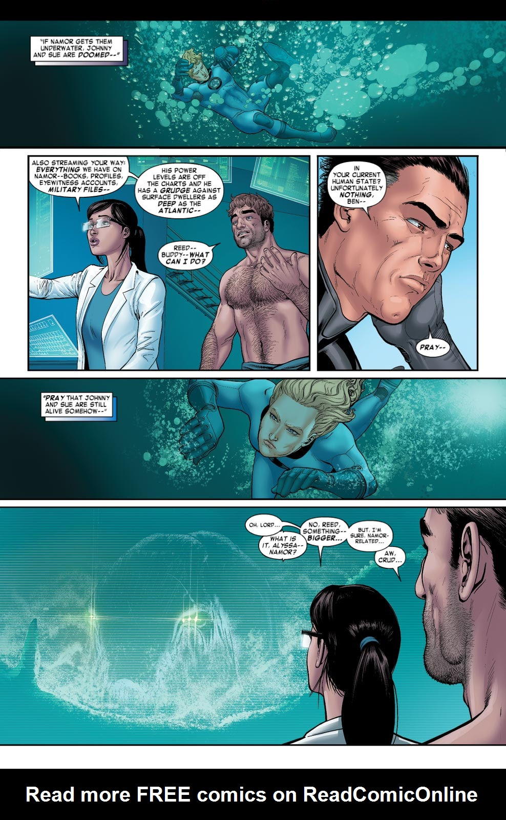 Read online Fantastic Four: Season One comic -  Issue # TPB - 92