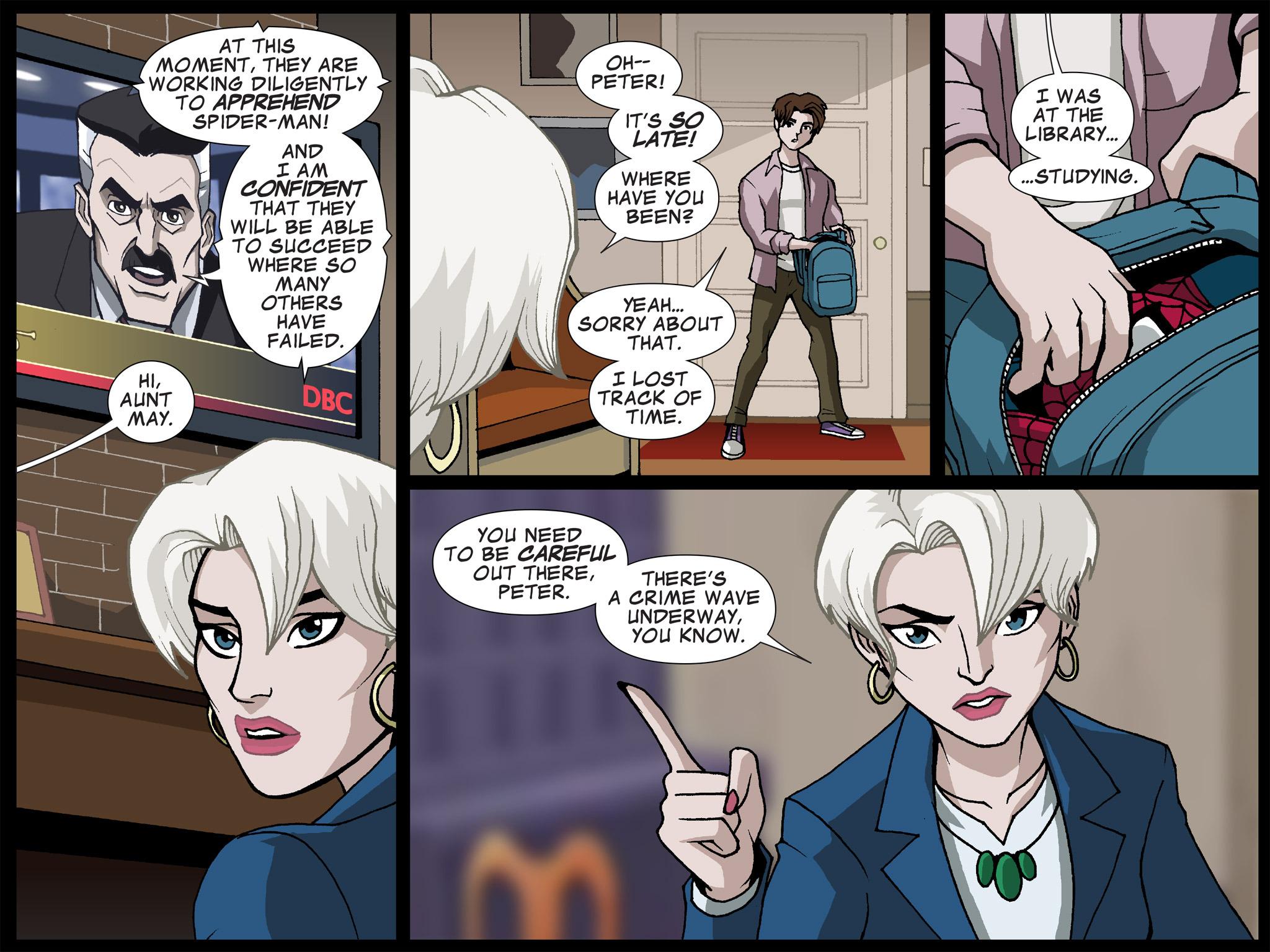 Read online Ultimate Spider-Man (Infinite Comics) (2015) comic -  Issue #17 - 14