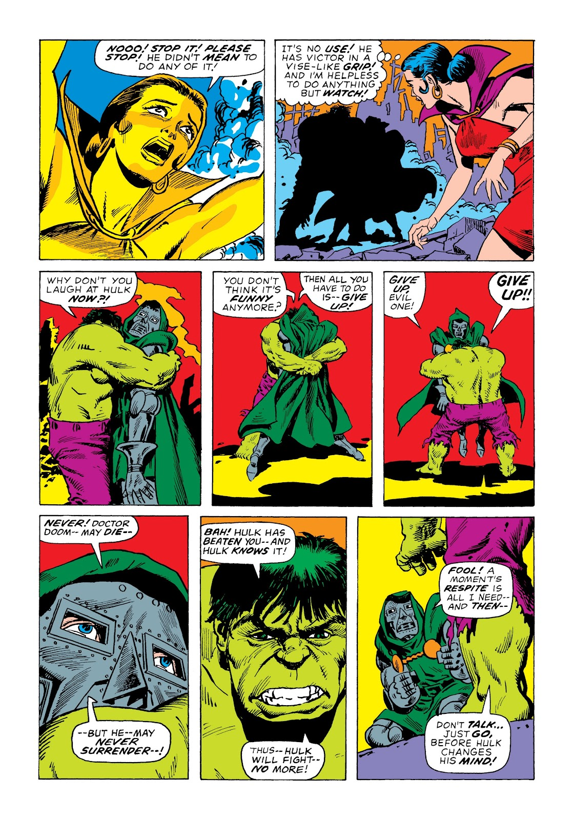 Read online Marvel Masterworks: The Incredible Hulk comic -  Issue # TPB 7 (Part 3) - 25