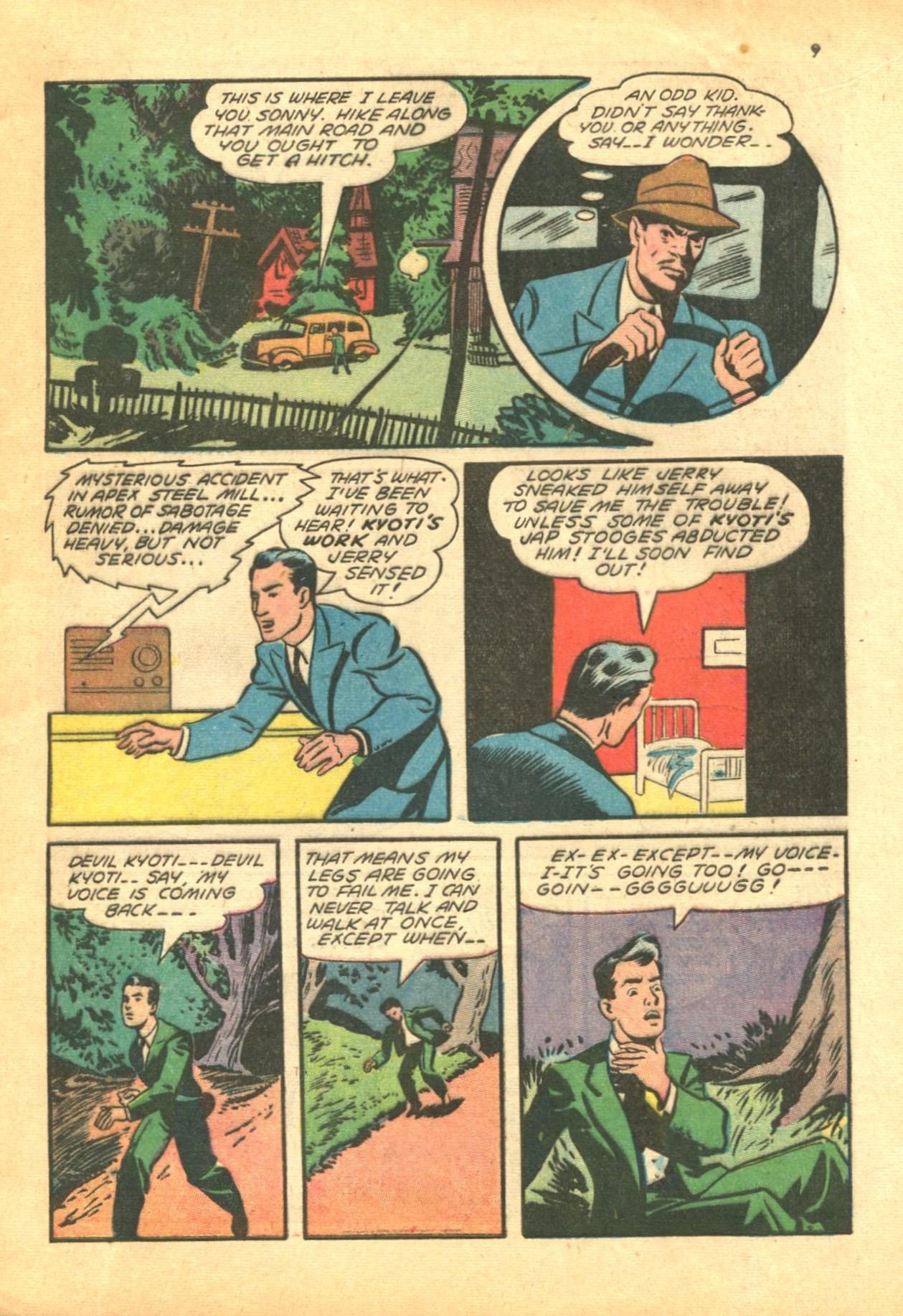 Read online Shadow Comics comic -  Issue #24 - 9
