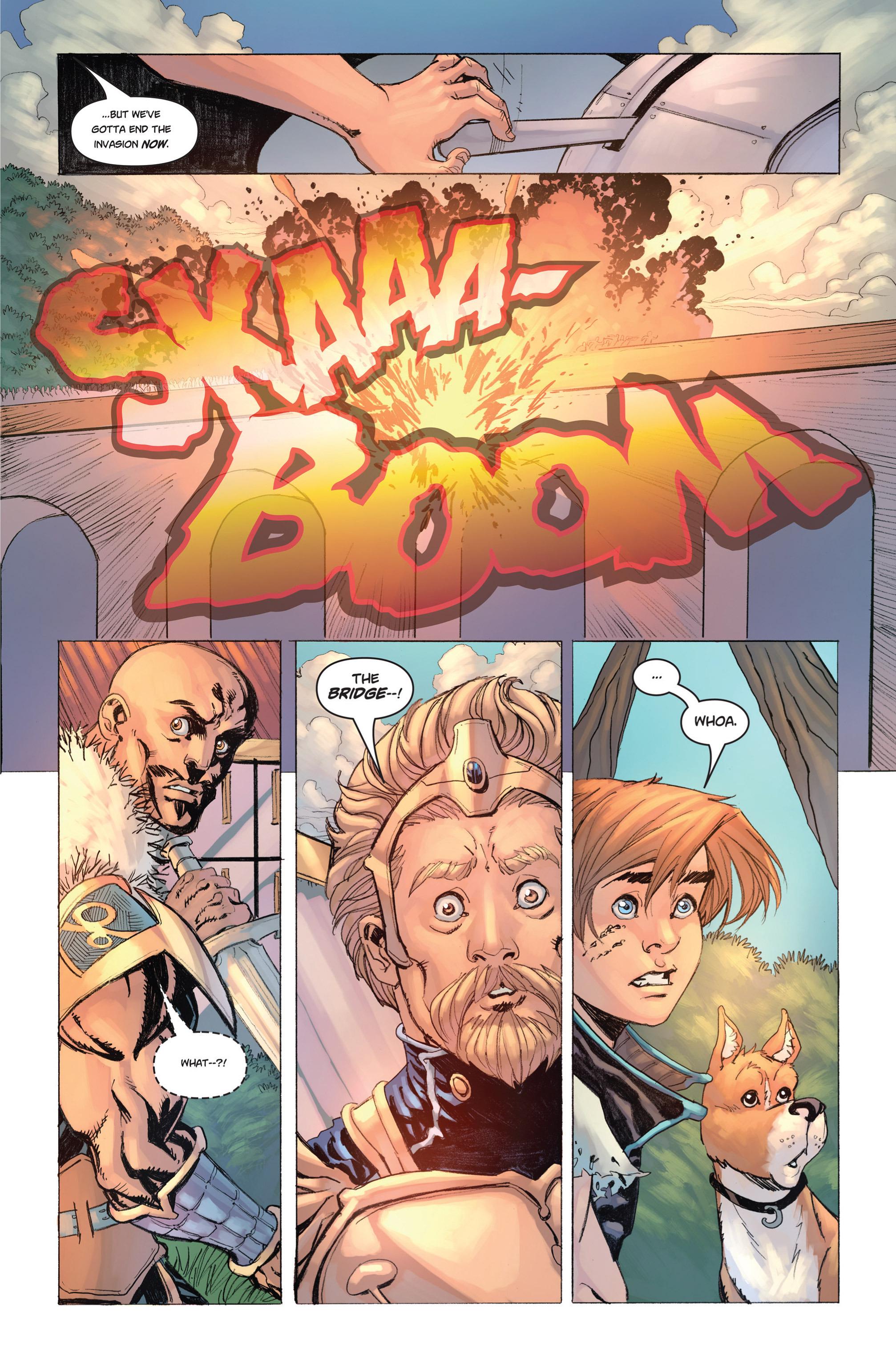 Read online Skyward comic -  Issue #9 - 18