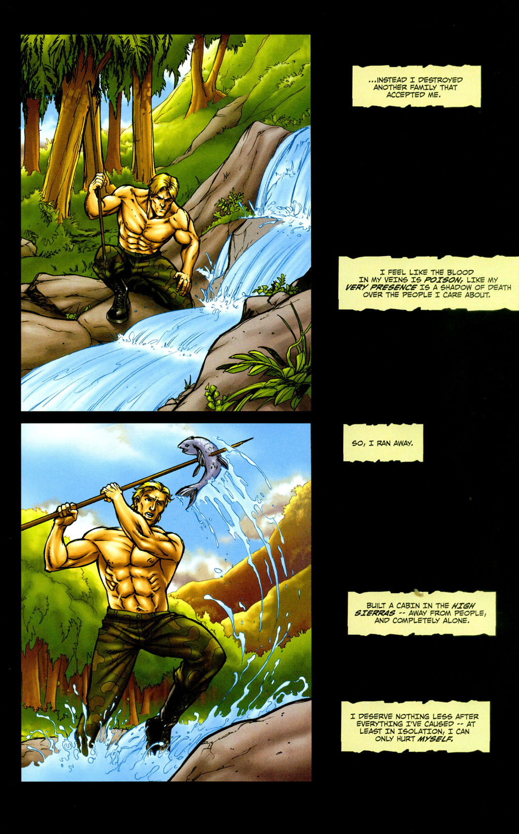 Read online Snake Eyes: Declassified comic -  Issue #5 - 17