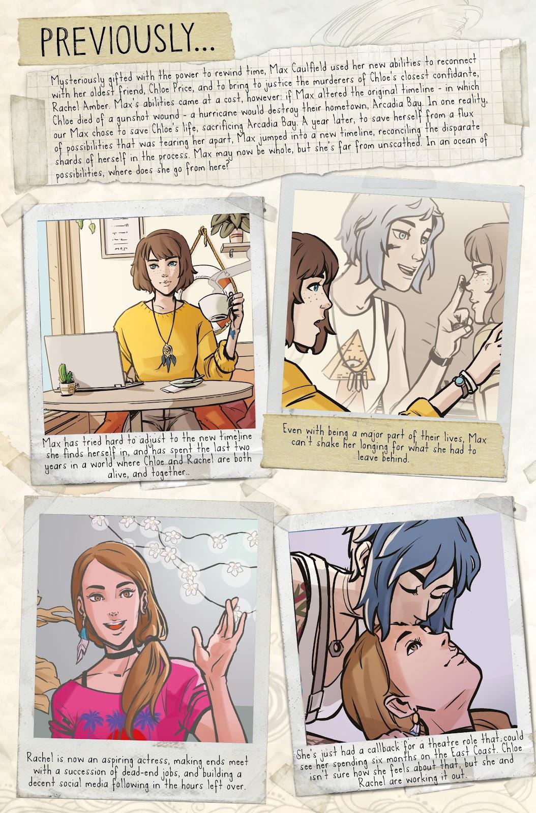 Read online Life is Strange comic -  Issue #6 - 4