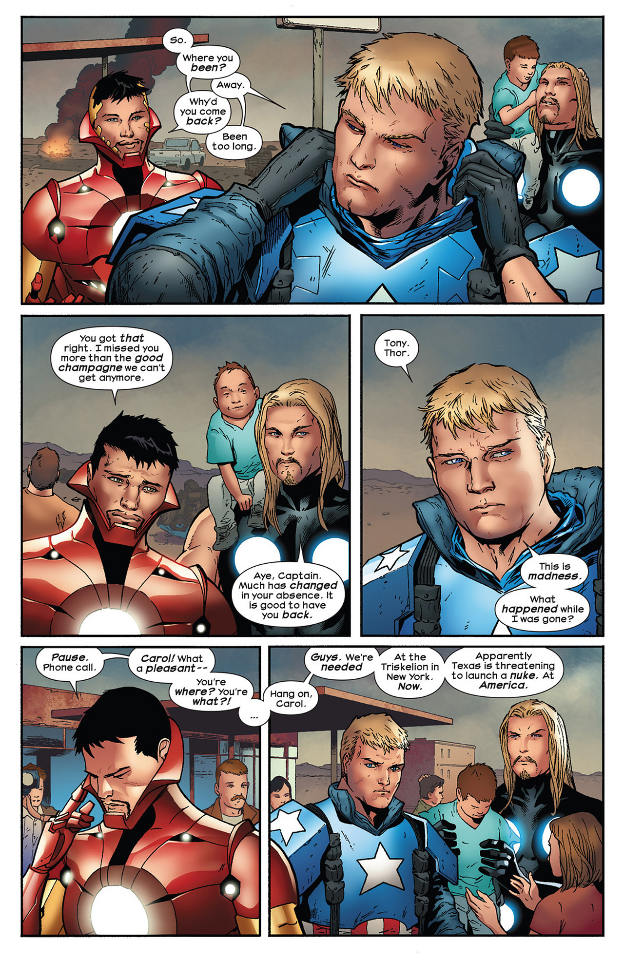 Read online Ultimate Comics Ultimates comic -  Issue #13 - 22