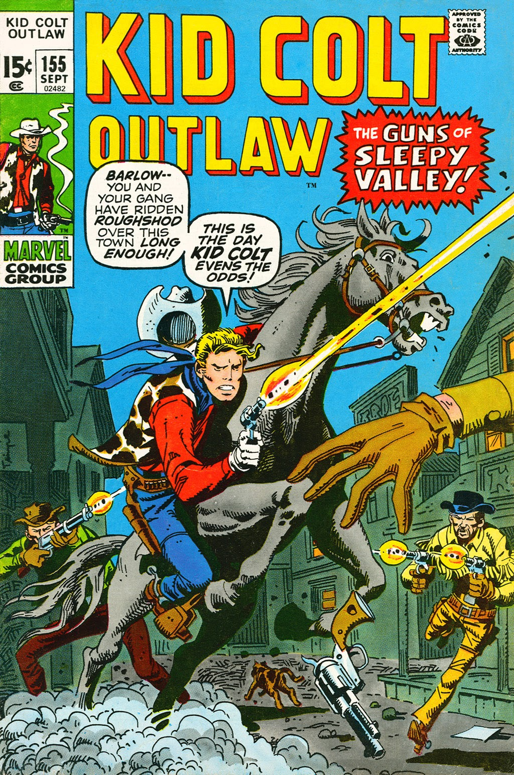 Kid Colt Outlaw issue 155 - Page 1