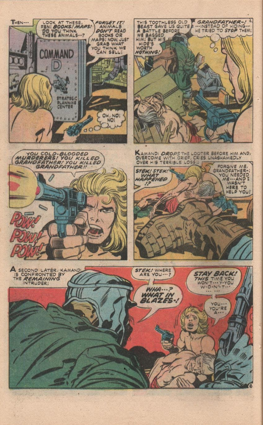 Kamandi, The Last Boy On Earth issue 32 - Page 35