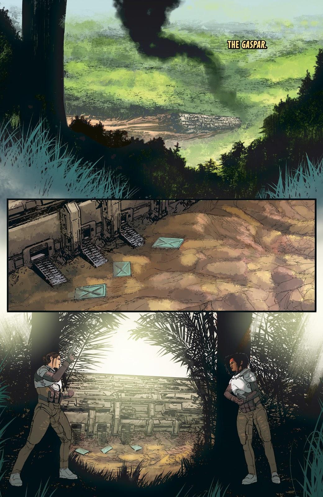 Read online Aliens: Resistance comic -  Issue #3 - 8