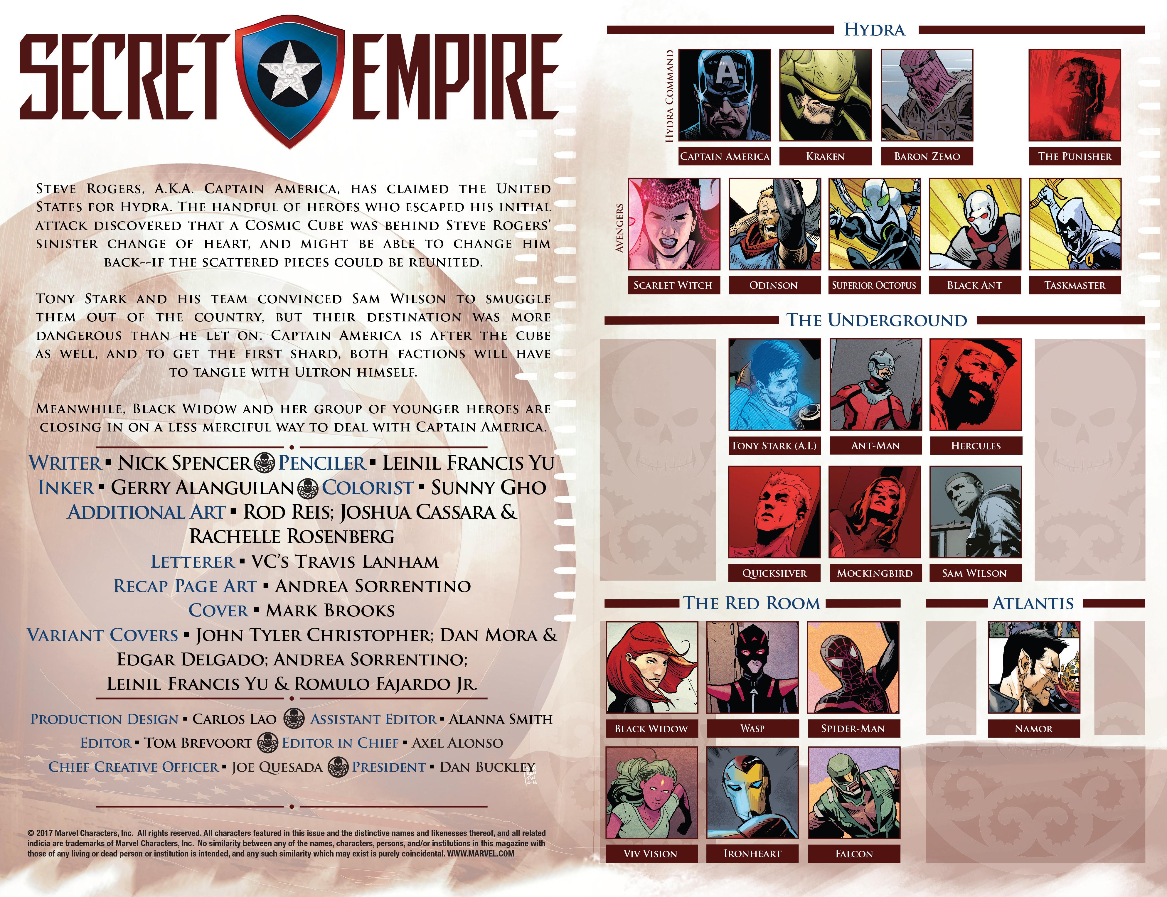 Read online Secret Empire comic -  Issue #4 - 5