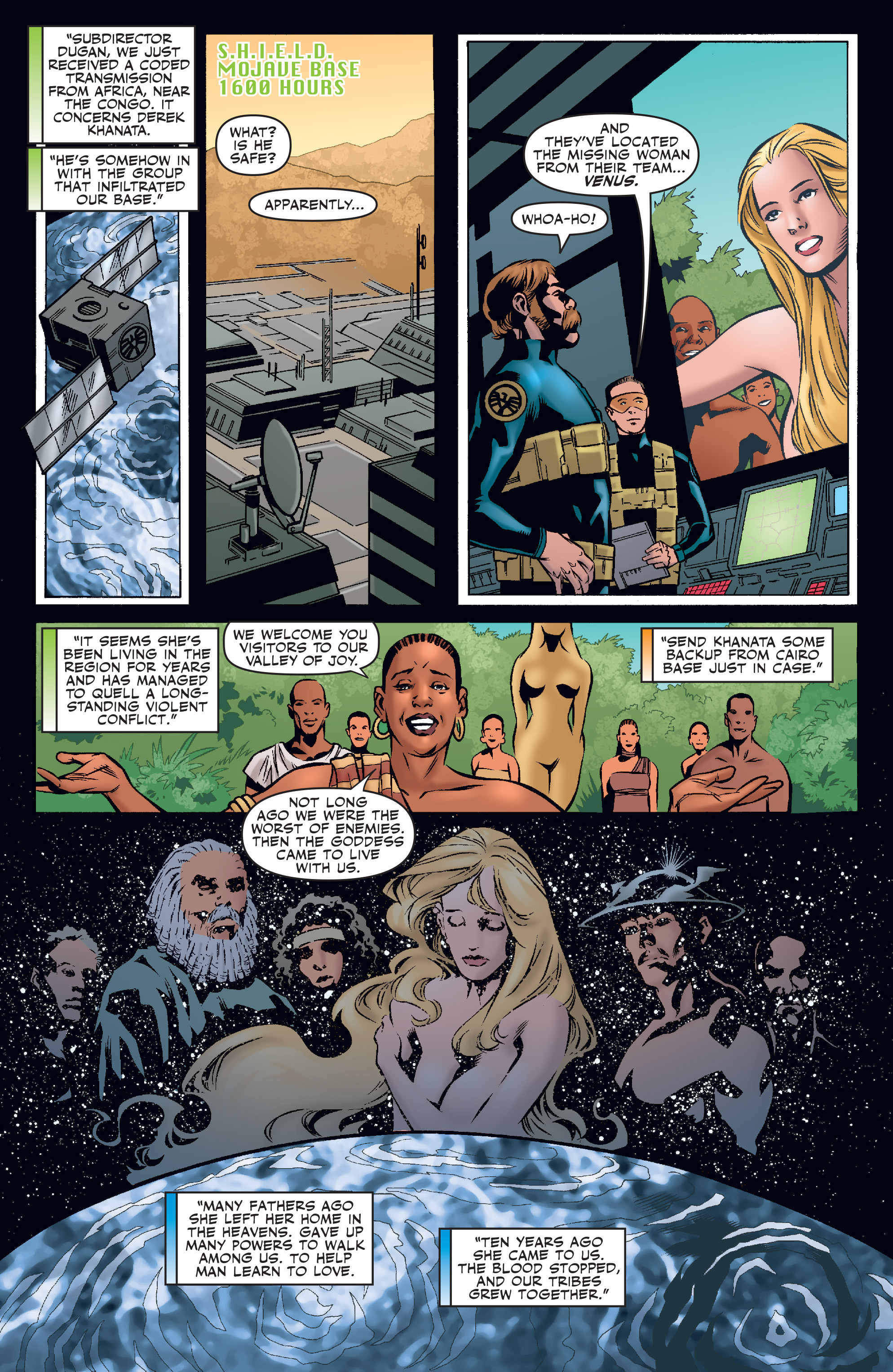 Read online Agents Of Atlas (2006) comic -  Issue #3 - 3