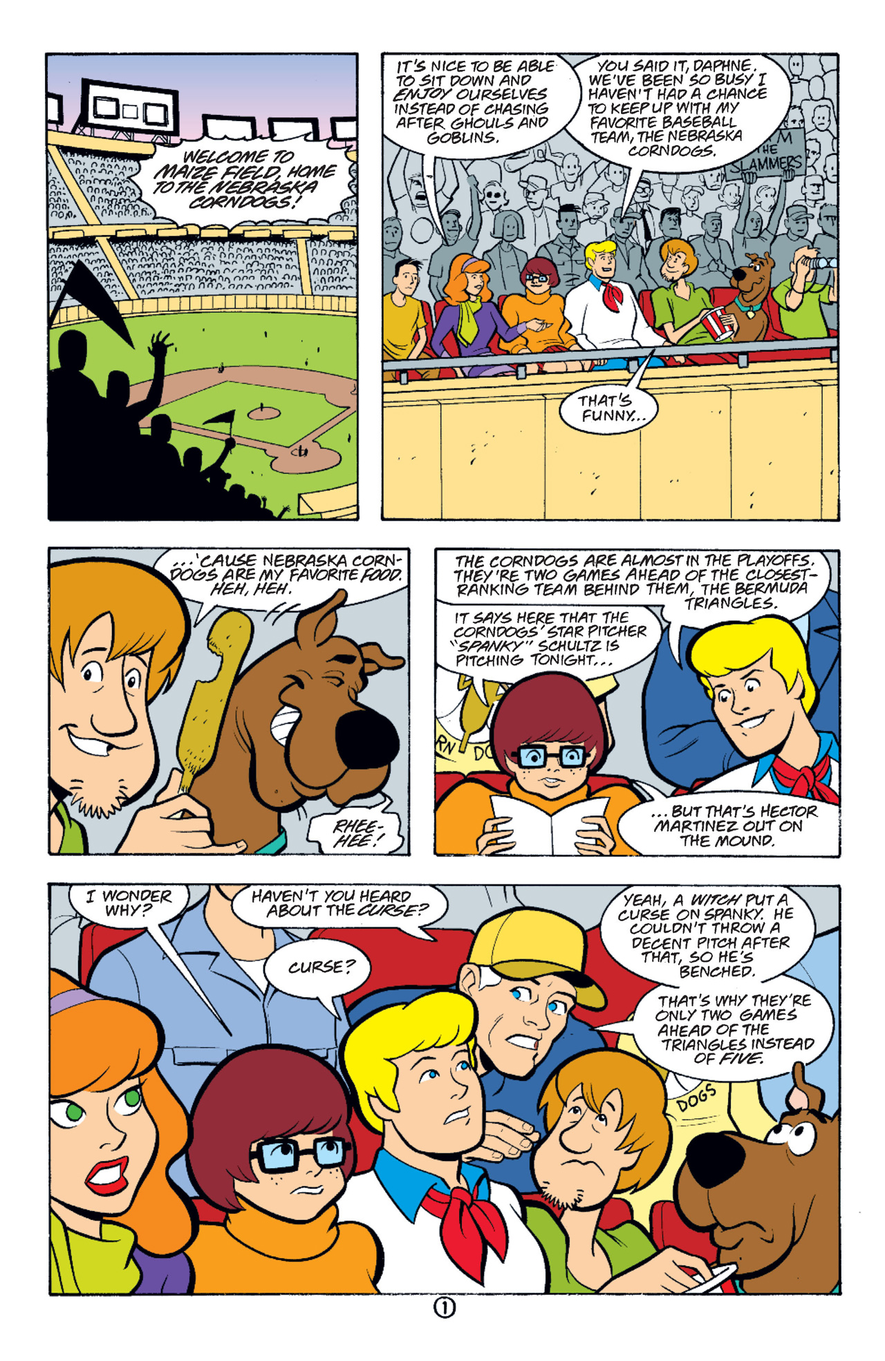 Read online Scooby-Doo (1997) comic -  Issue #37 - 14