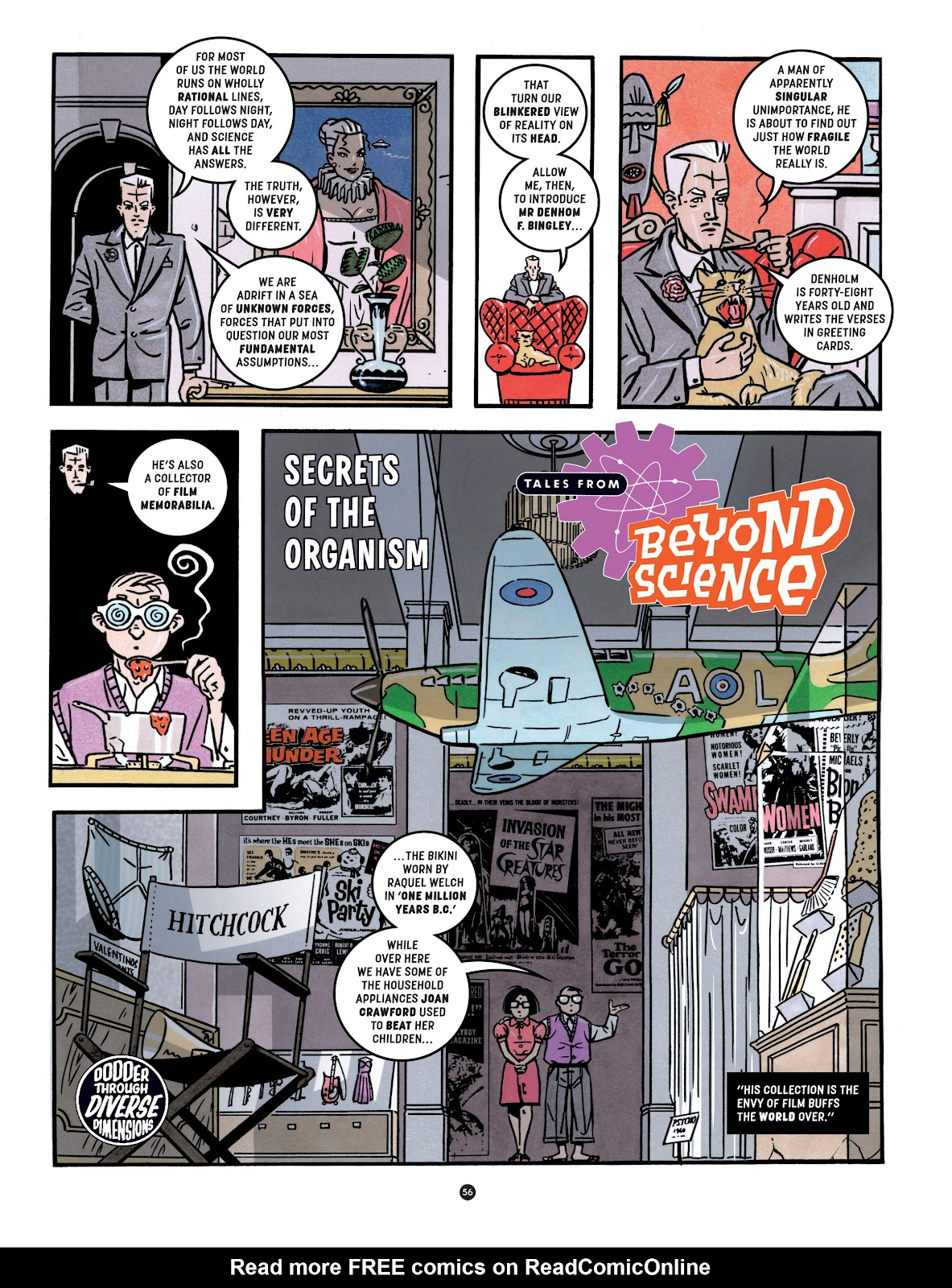 Read online Tales from Beyond Science comic -  Issue # TPB - 57