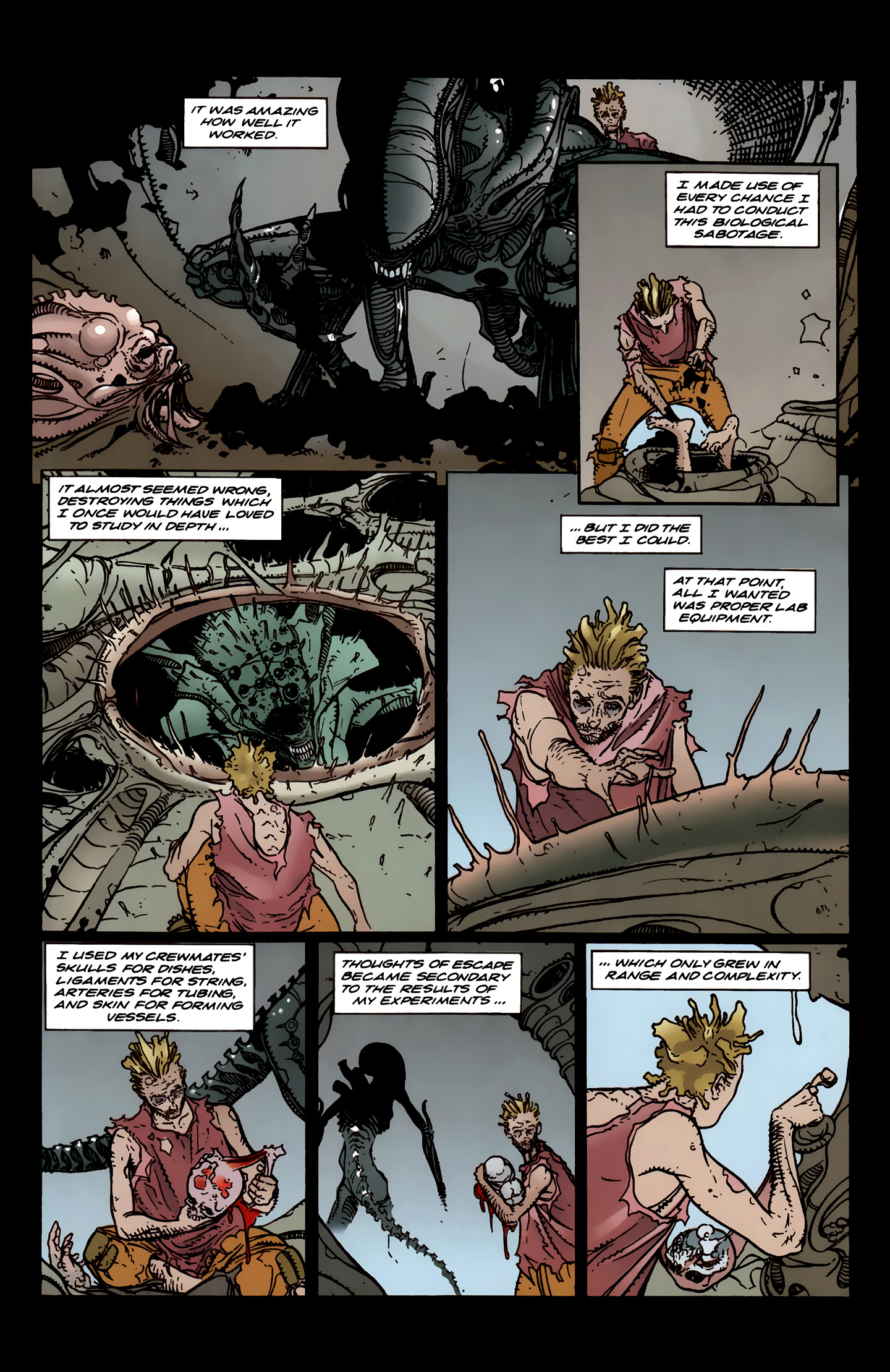 Read online Aliens: Labyrinth comic -  Issue #3 - 22
