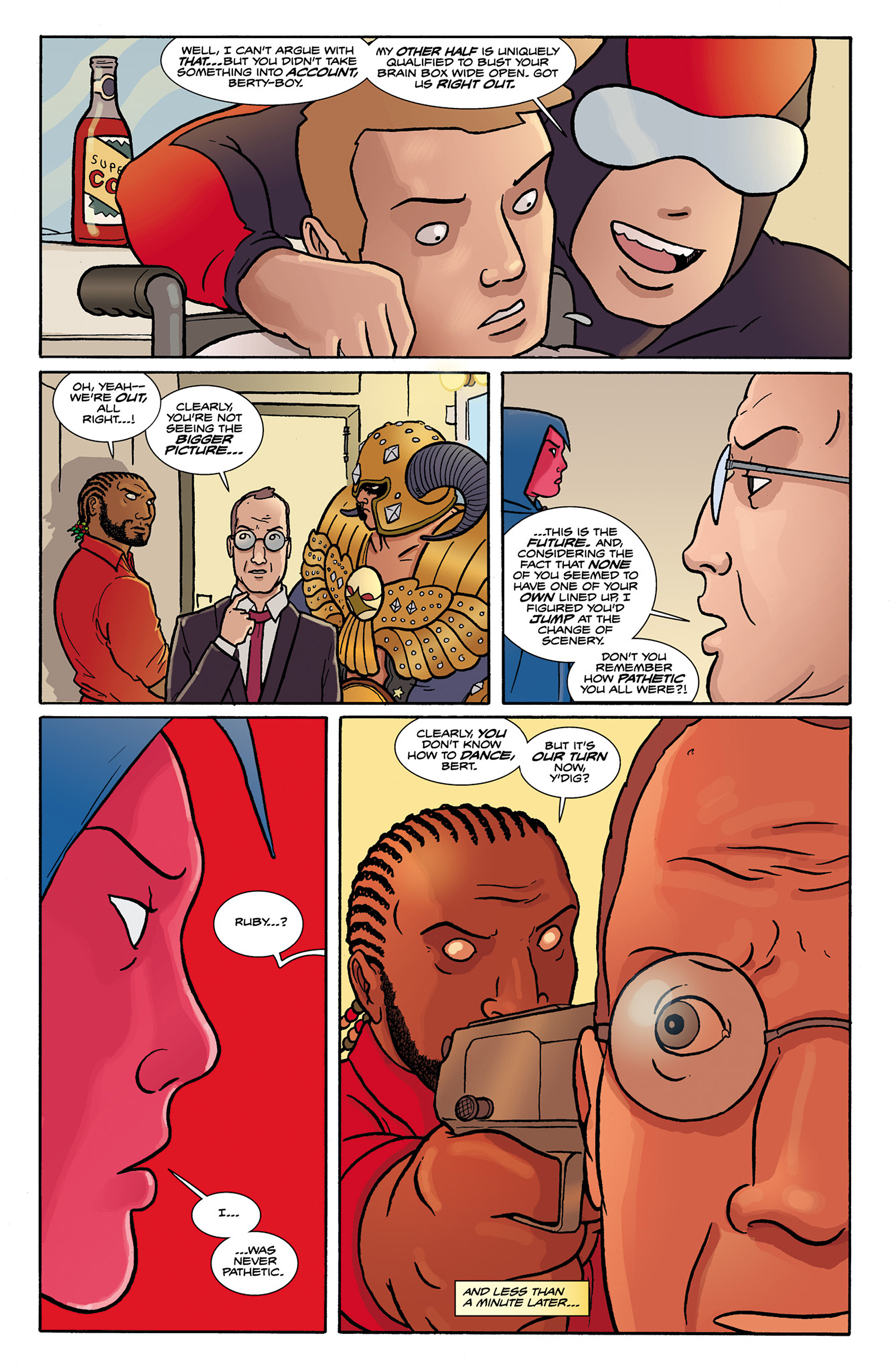 Read online Catalyst Comix comic -  Issue #9 - 13
