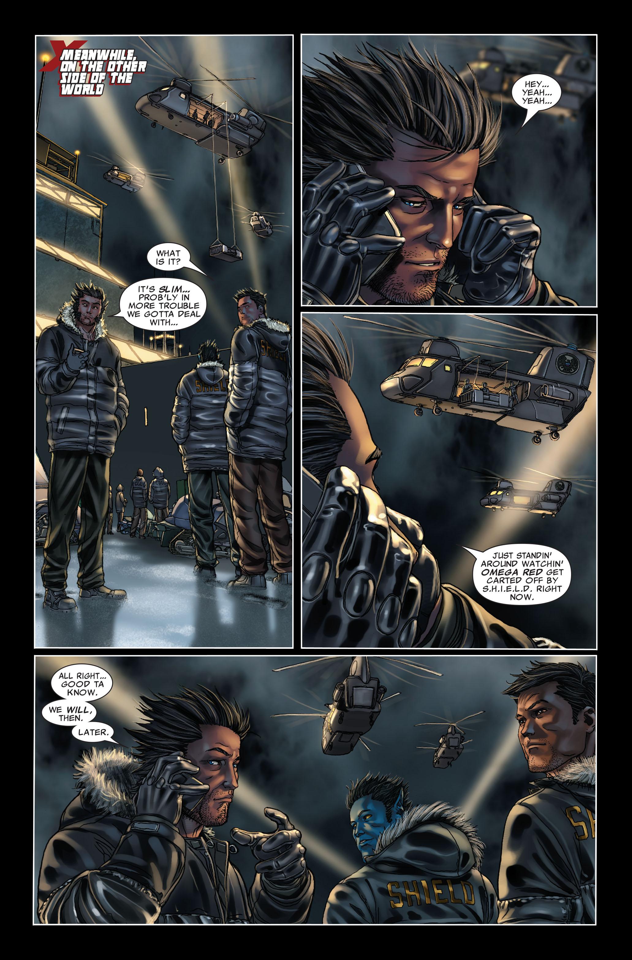 Read online Uncanny X-Men (1963) comic -  Issue #499 - 22