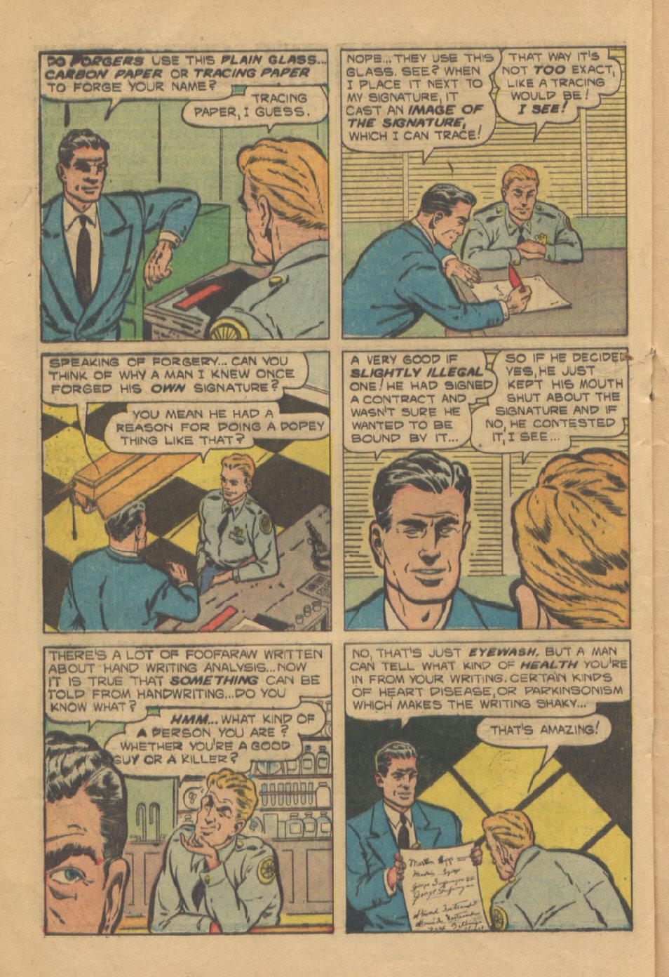 Read online Shadow Comics comic -  Issue #95 - 28