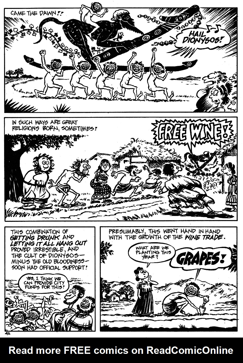 Read online The Cartoon History of the Universe comic -  Issue #5 - 44