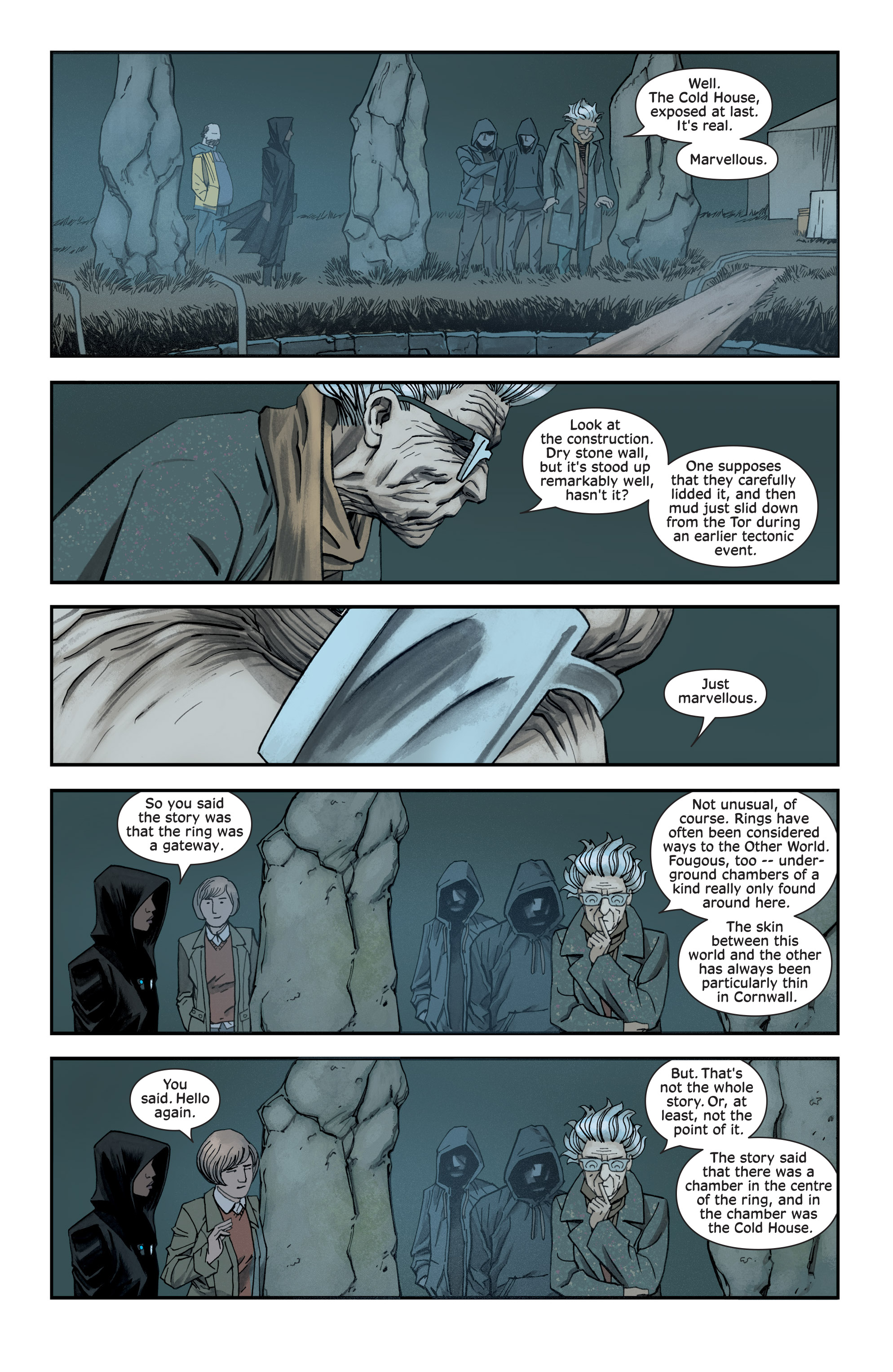 Read online Injection comic -  Issue #13 - 6