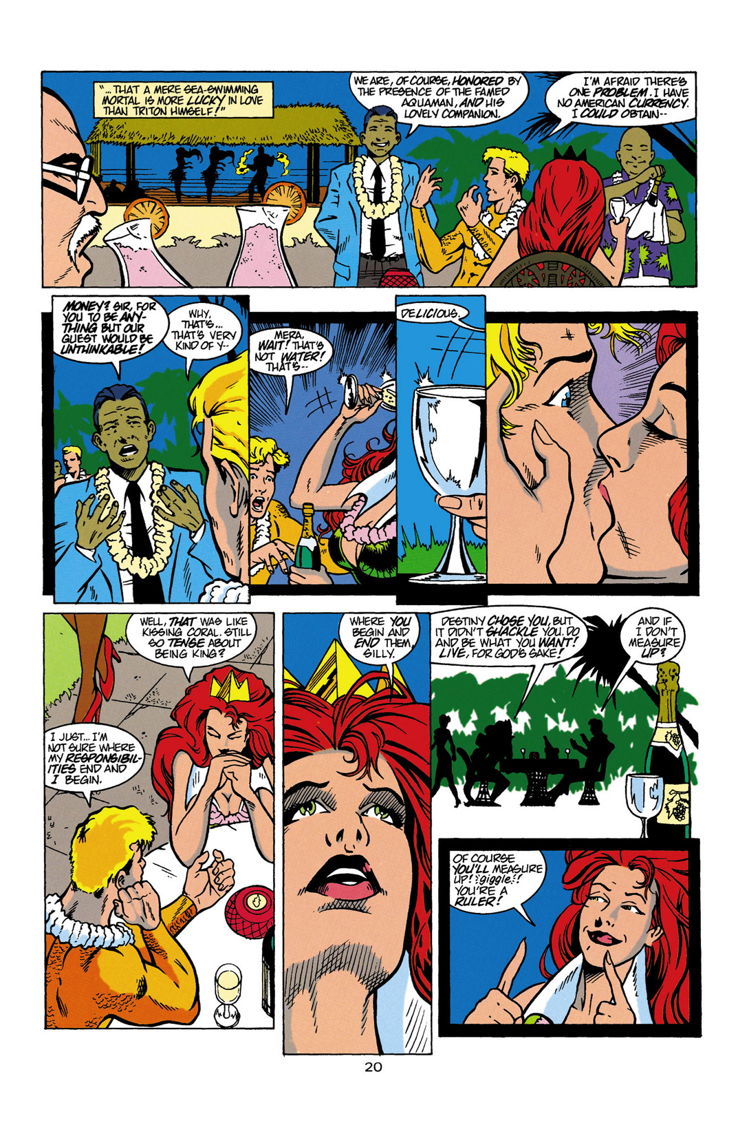 Read online Aquaman (1994) comic -  Issue #Aquaman (1994) _Annual 1 - 21